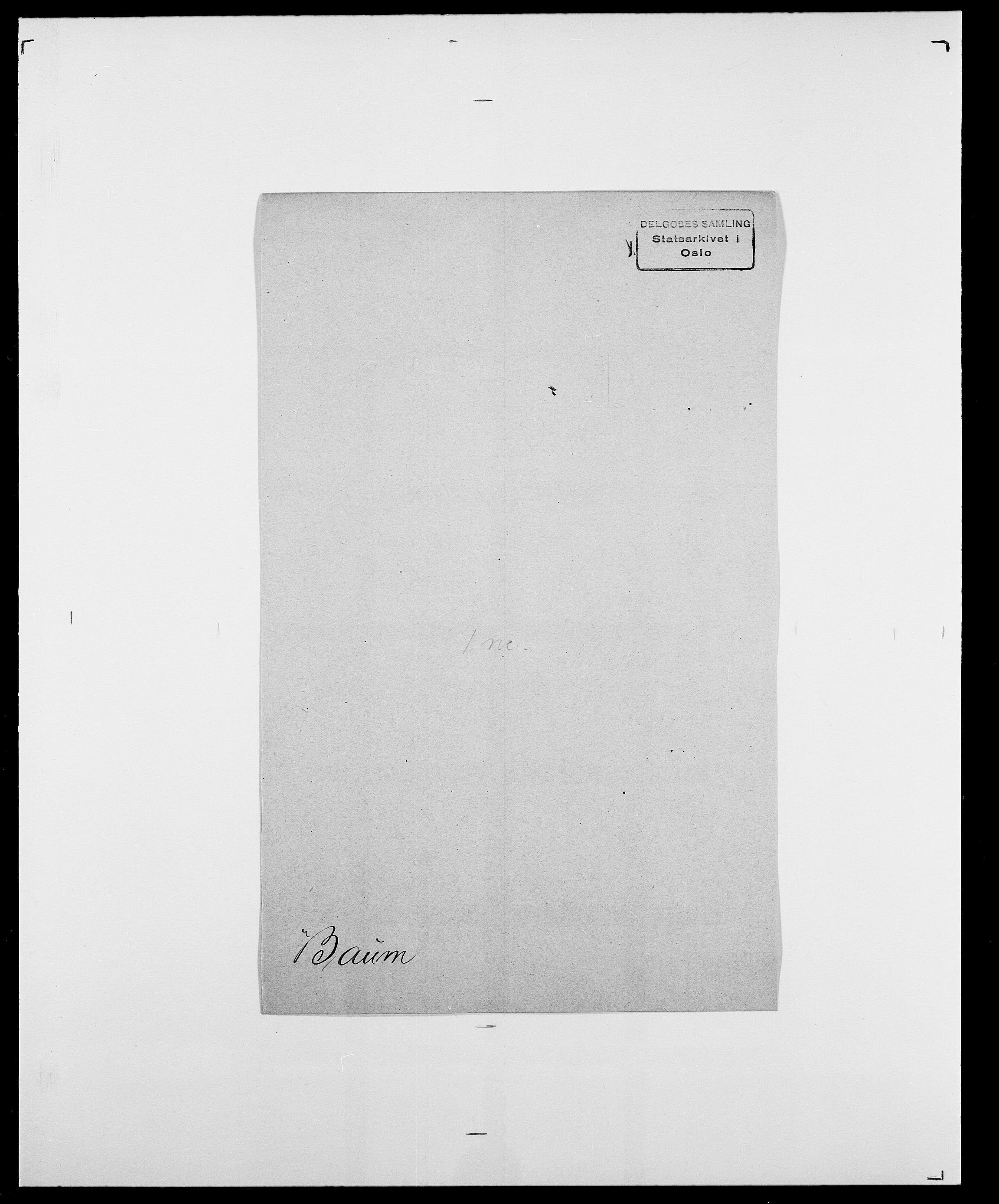 SAO, Delgobe, Charles Antoine - samling, D/Da/L0003: Barca - Bergen, s. 443