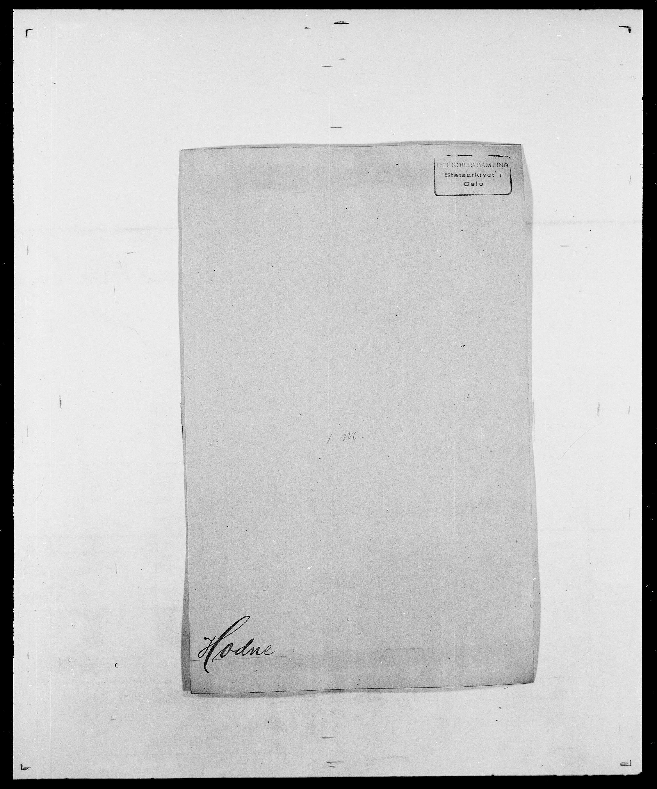 SAO, Delgobe, Charles Antoine - samling, D/Da/L0018: Hoch - Howert, s. 6