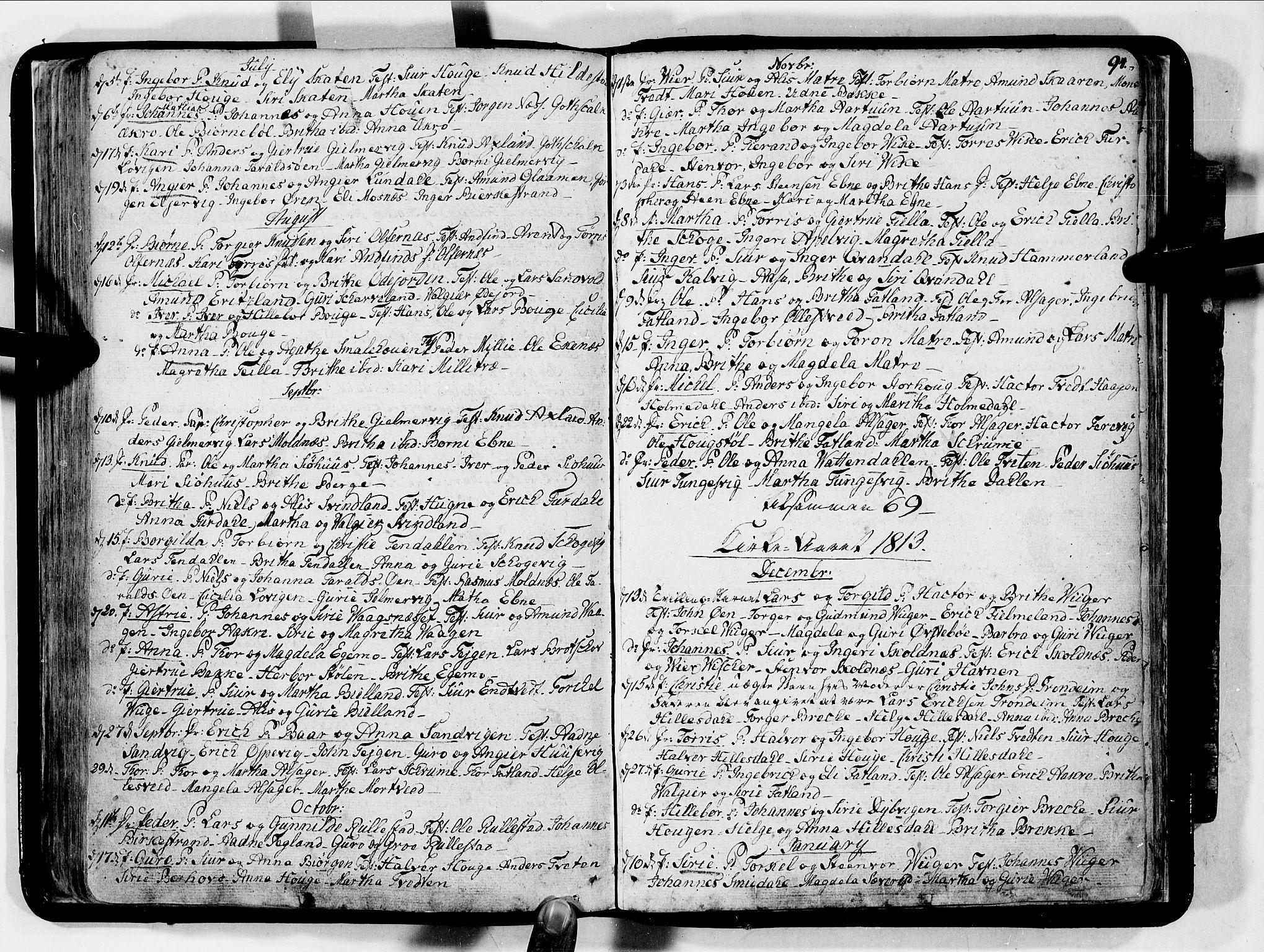 SAB, Skånevik Sokneprestembete, H/Haa: Ministerialbok nr. A 2, 1790-1824, s. 94