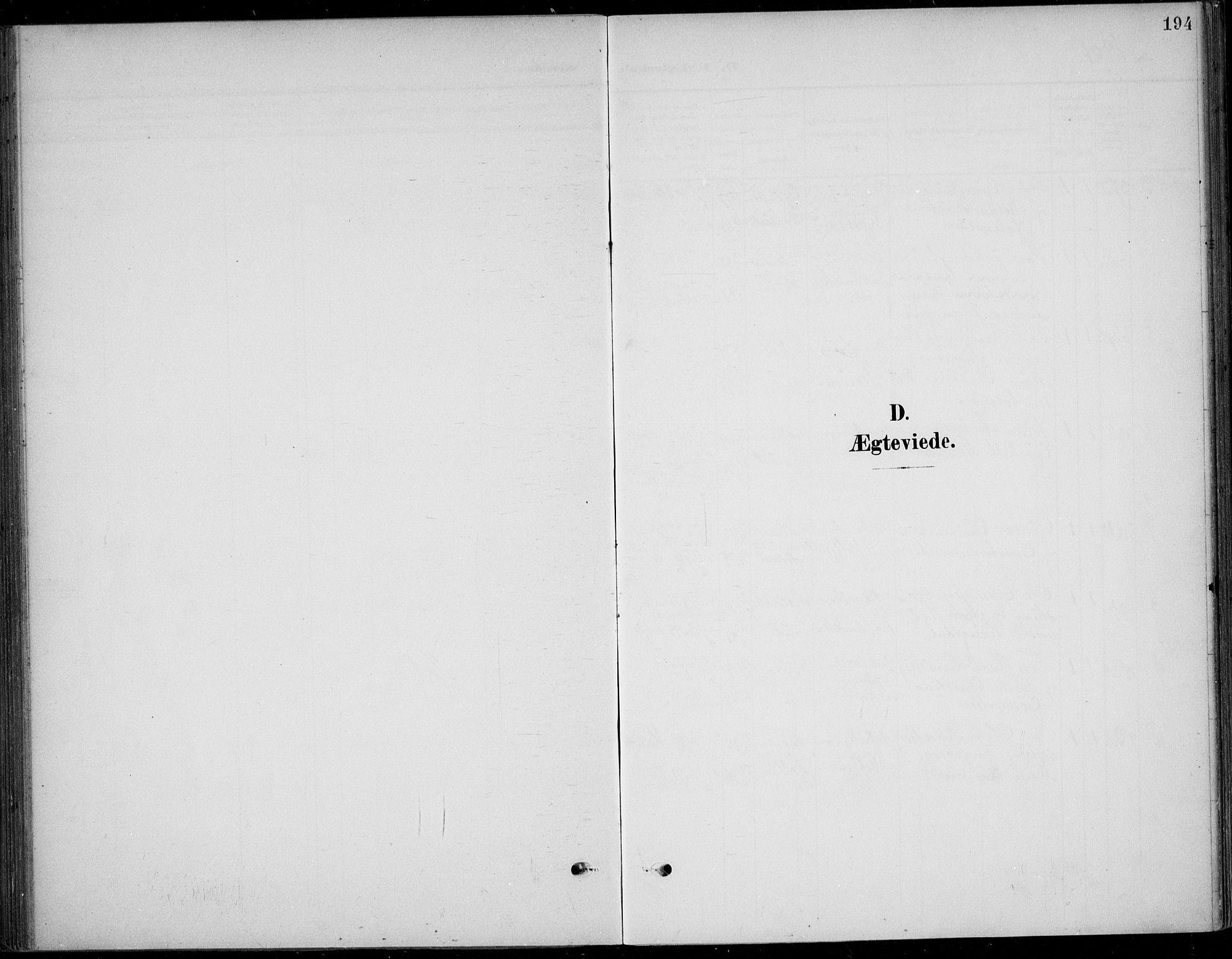 SAKO, Solum kirkebøker, F/Fb/L0003: Ministerialbok nr. II 3, 1901-1912, s. 194