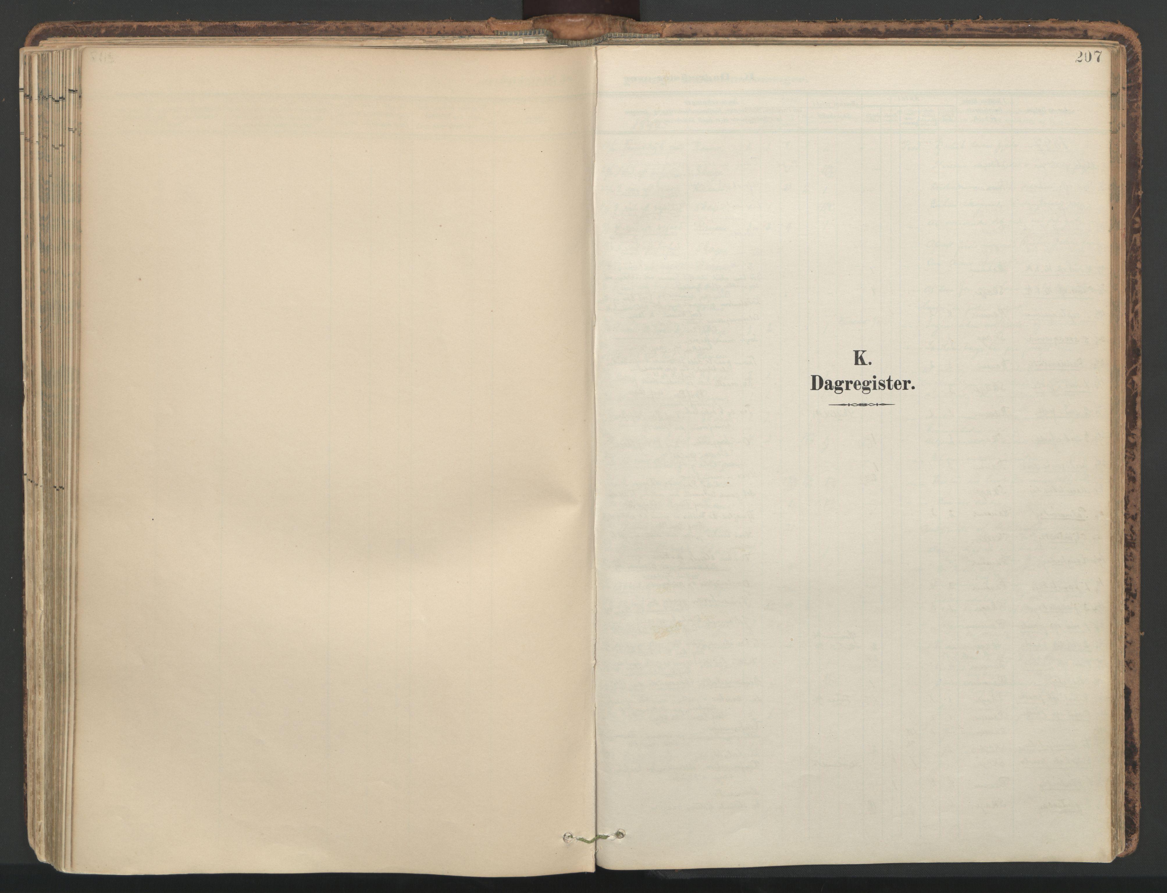 SAT, Ministerialprotokoller, klokkerbøker og fødselsregistre - Nord-Trøndelag, 764/L0556: Ministerialbok nr. 764A11, 1897-1924, s. 207