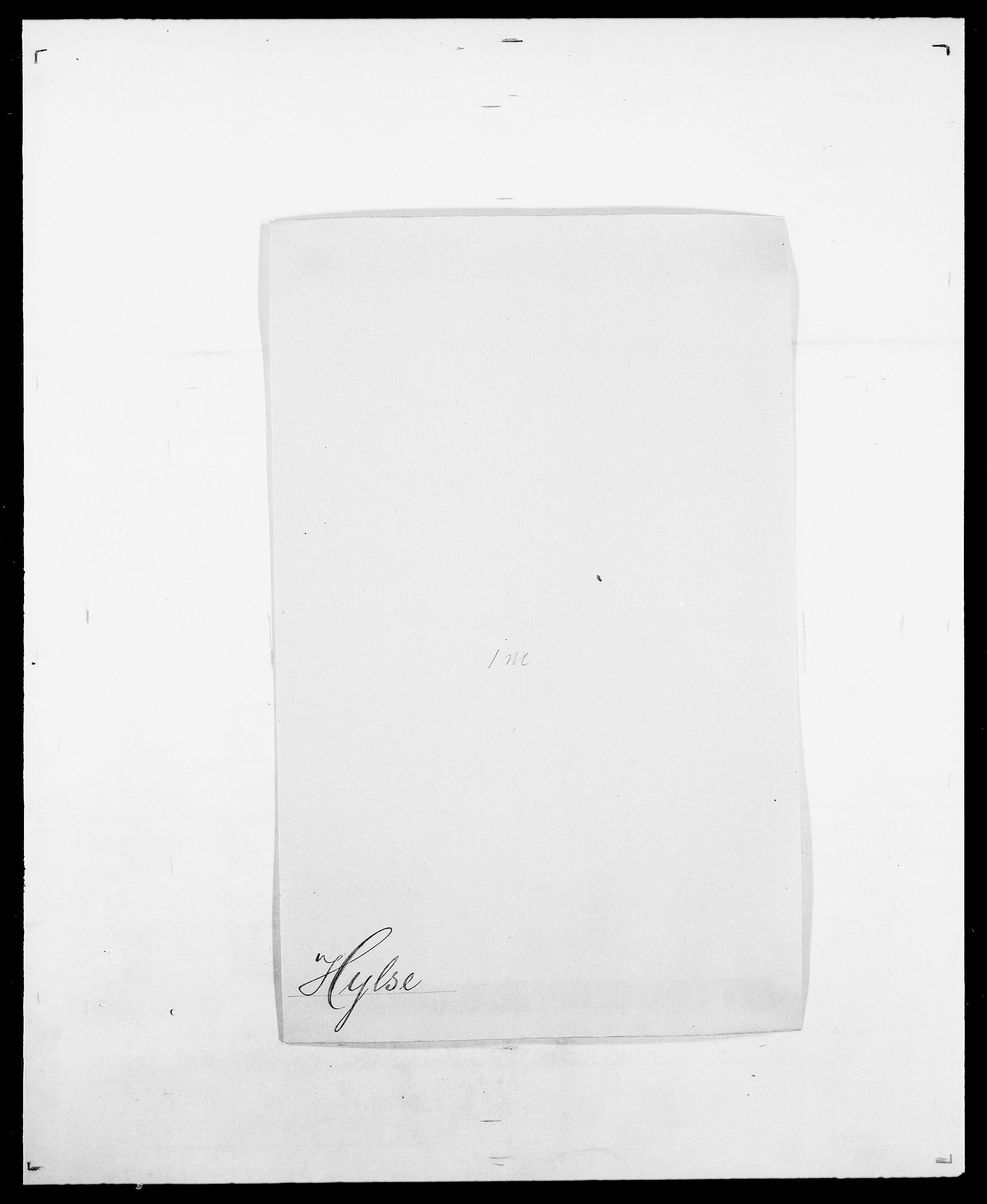 SAO, Delgobe, Charles Antoine - samling, D/Da/L0019: van der Hude - Joys, s. 278