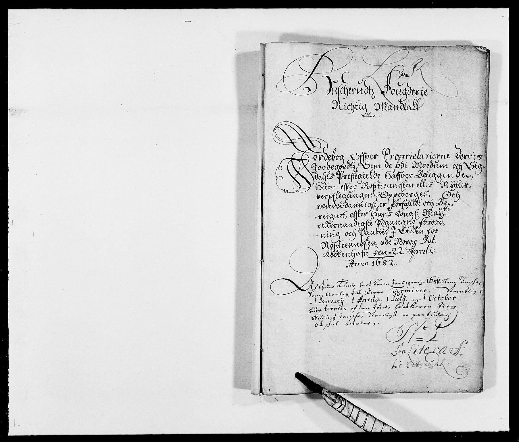 RA, Rentekammeret inntil 1814, Reviderte regnskaper, Fogderegnskap, R25/L1676: Fogderegnskap Buskerud, 1682, s. 156