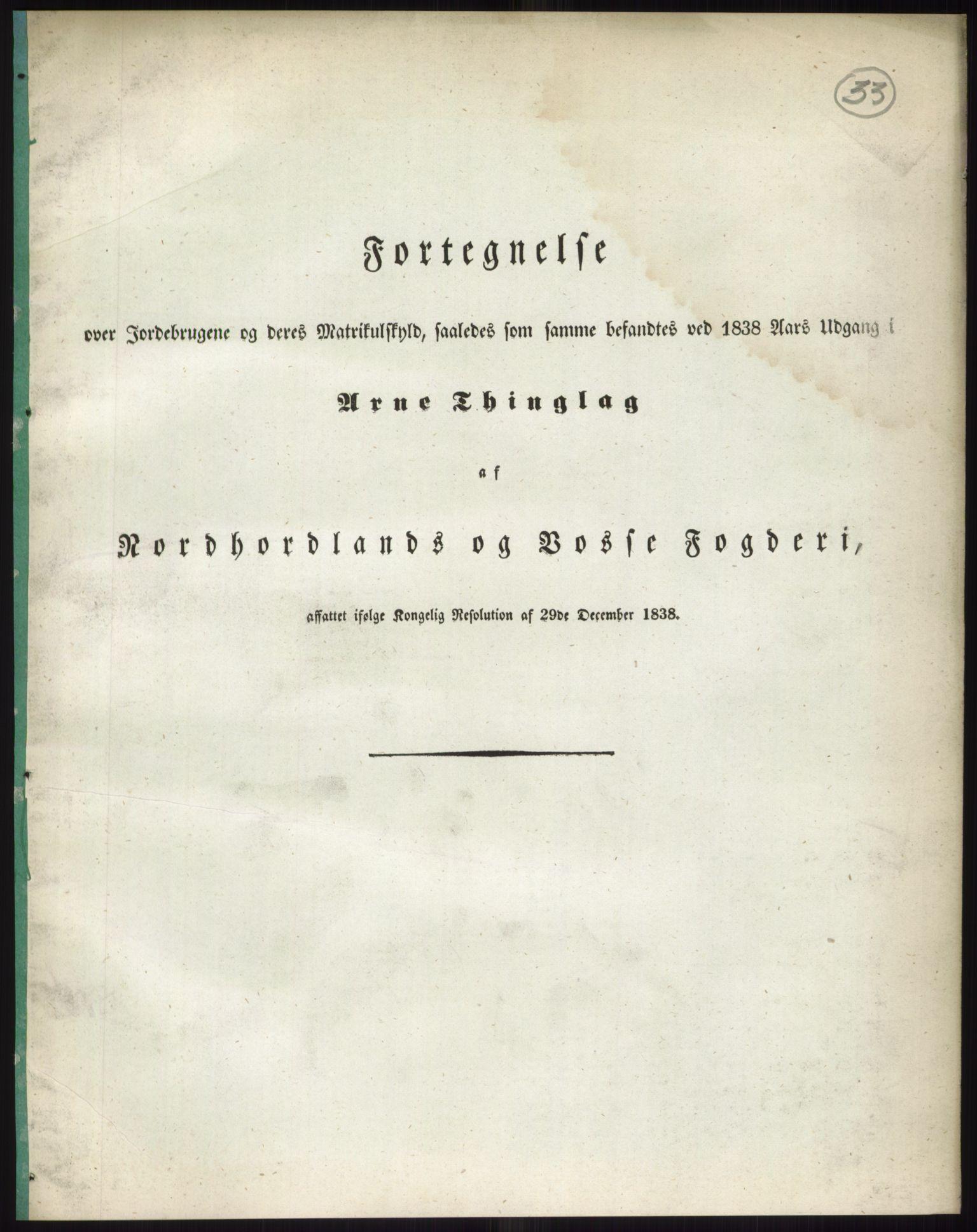 RA, 1838-matrikkelen (publikasjon)*, 1838, s. 33