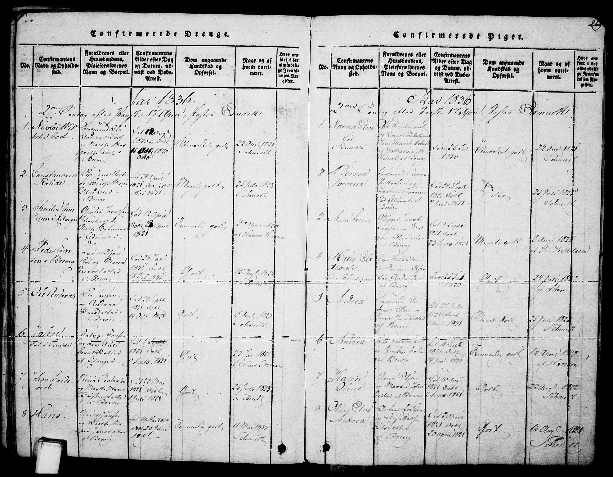 SAKO, Brevik kirkebøker, F/Fa/L0004: Ministerialbok nr. 4, 1814-1846, s. 269
