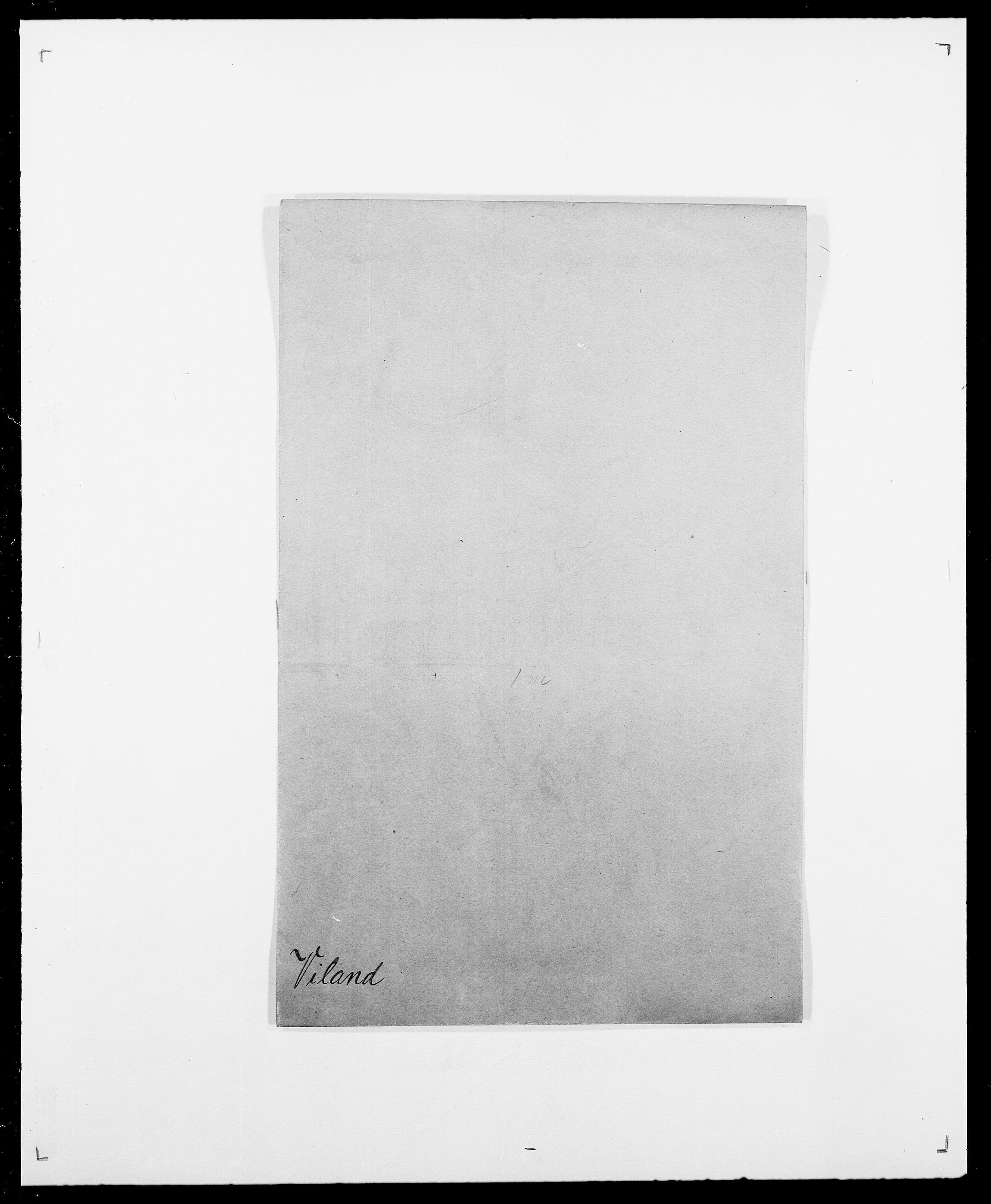 SAO, Delgobe, Charles Antoine - samling, D/Da/L0042: Vilain - Wulf, Wulff, se også Wolf, s. 3