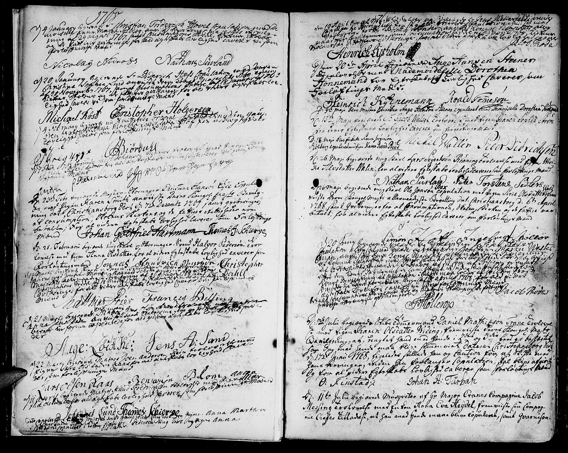 SAT, Ministerialprotokoller, klokkerbøker og fødselsregistre - Sør-Trøndelag, 601/L0038: Ministerialbok nr. 601A06, 1766-1877, s. 274