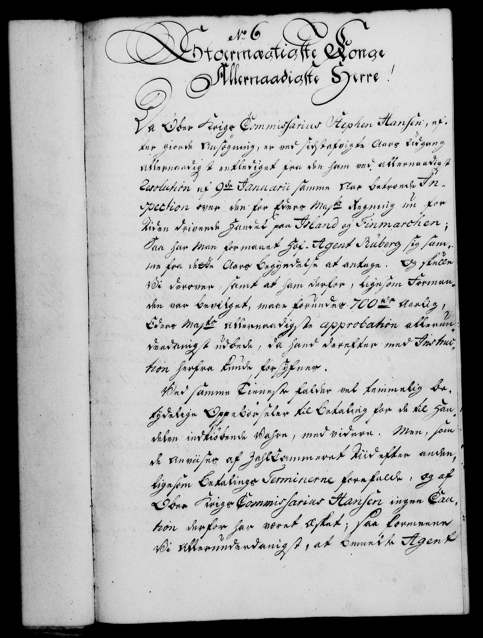 RA, Rentekammeret, Kammerkanselliet, G/Gf/Gfa/L0042: Norsk relasjons- og resolusjonsprotokoll (merket RK 52.42), 1760, s. 54