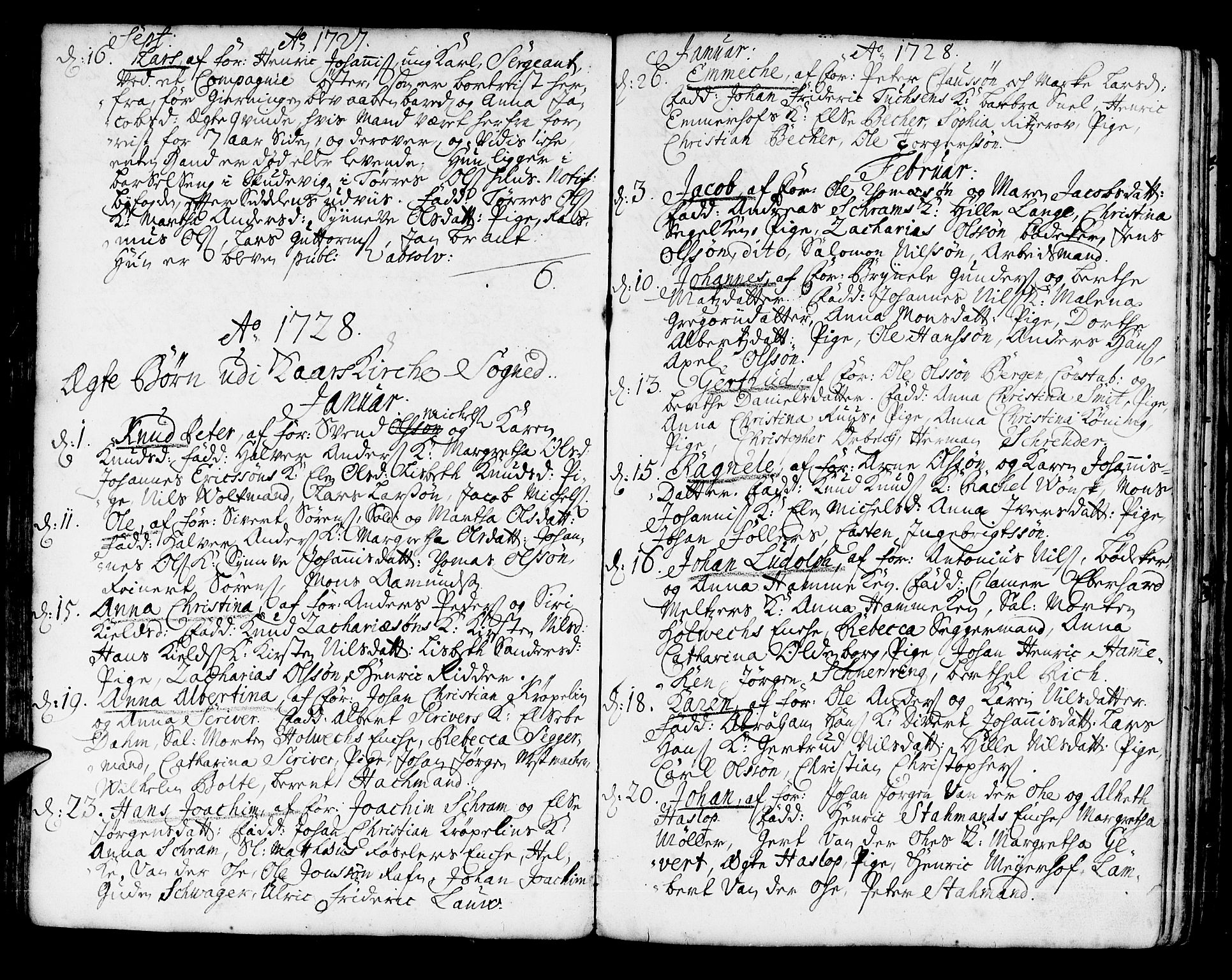 SAB, Korskirken Sokneprestembete, H/Haa/L0004: Ministerialbok nr. A 4, 1720-1750, s. 78