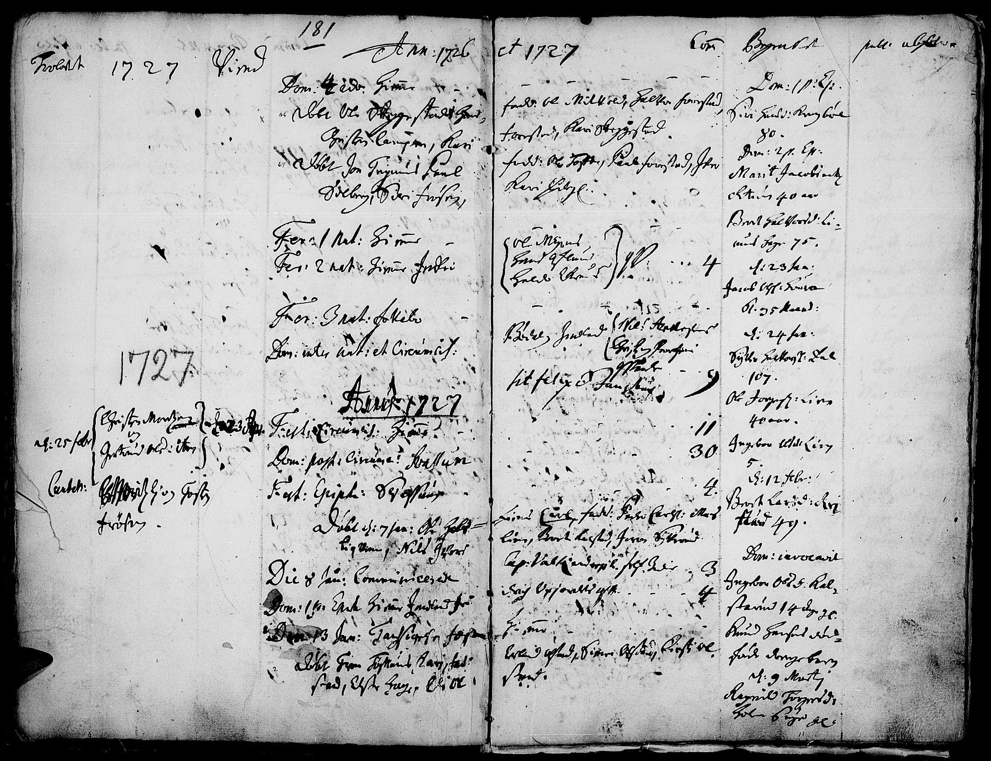 SAH, Gausdal prestekontor, Ministerialbok nr. 1, 1693-1728, s. 181