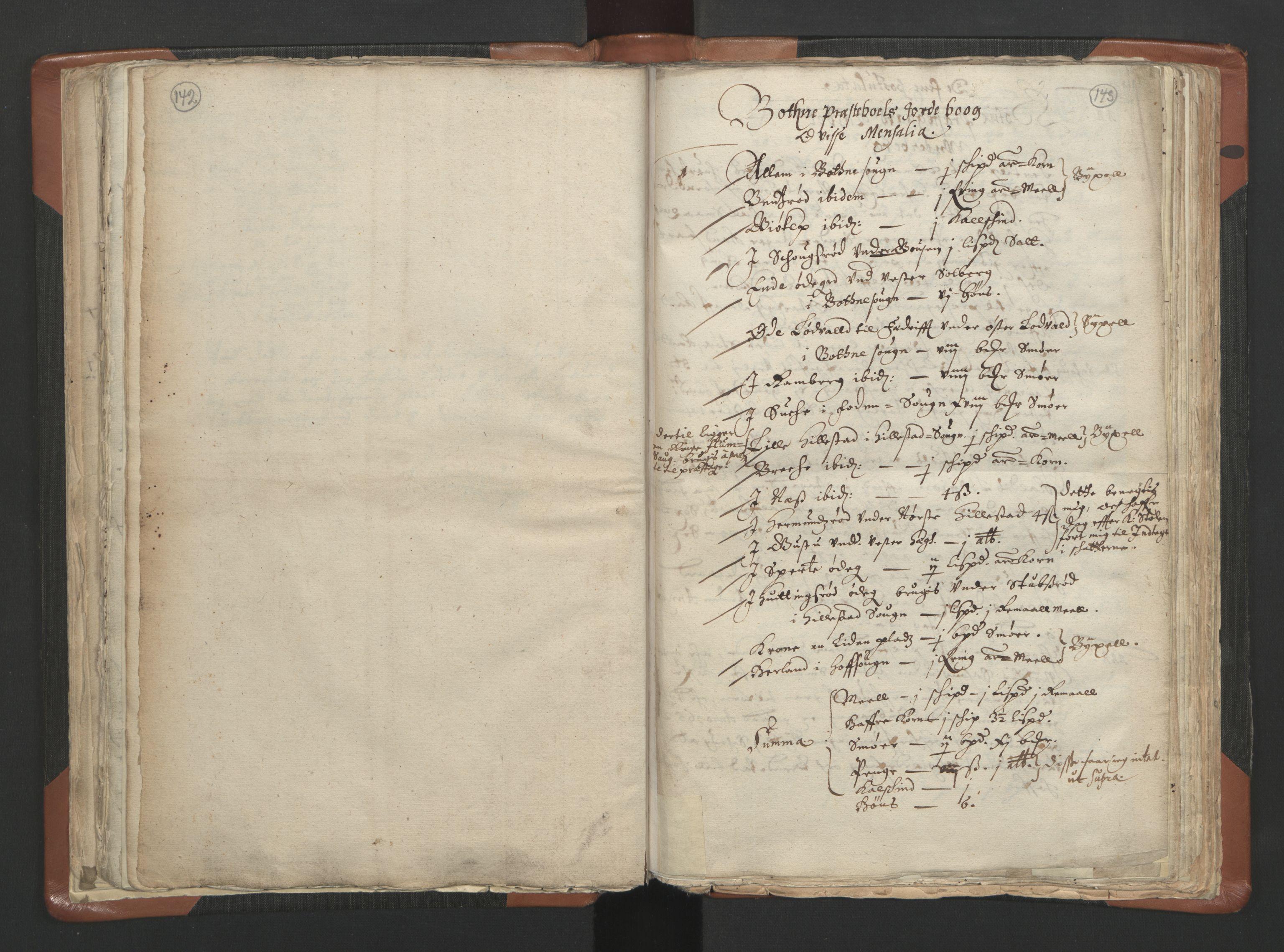 RA, Sogneprestenes manntall 1664-1666, nr. 10: Tønsberg prosti, 1664-1666, s. 142-143