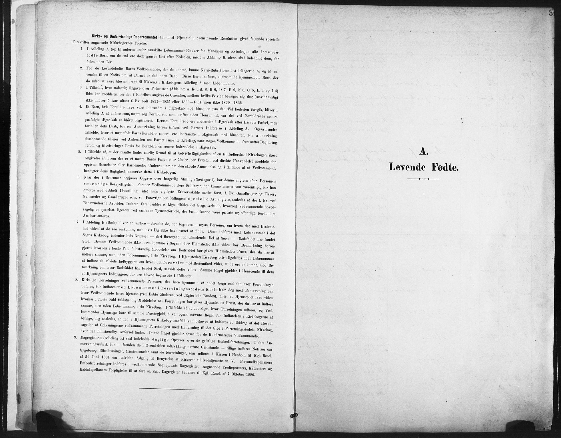 SAT, Ministerialprotokoller, klokkerbøker og fødselsregistre - Nord-Trøndelag, 717/L0162: Ministerialbok nr. 717A12, 1898-1923, s. 3