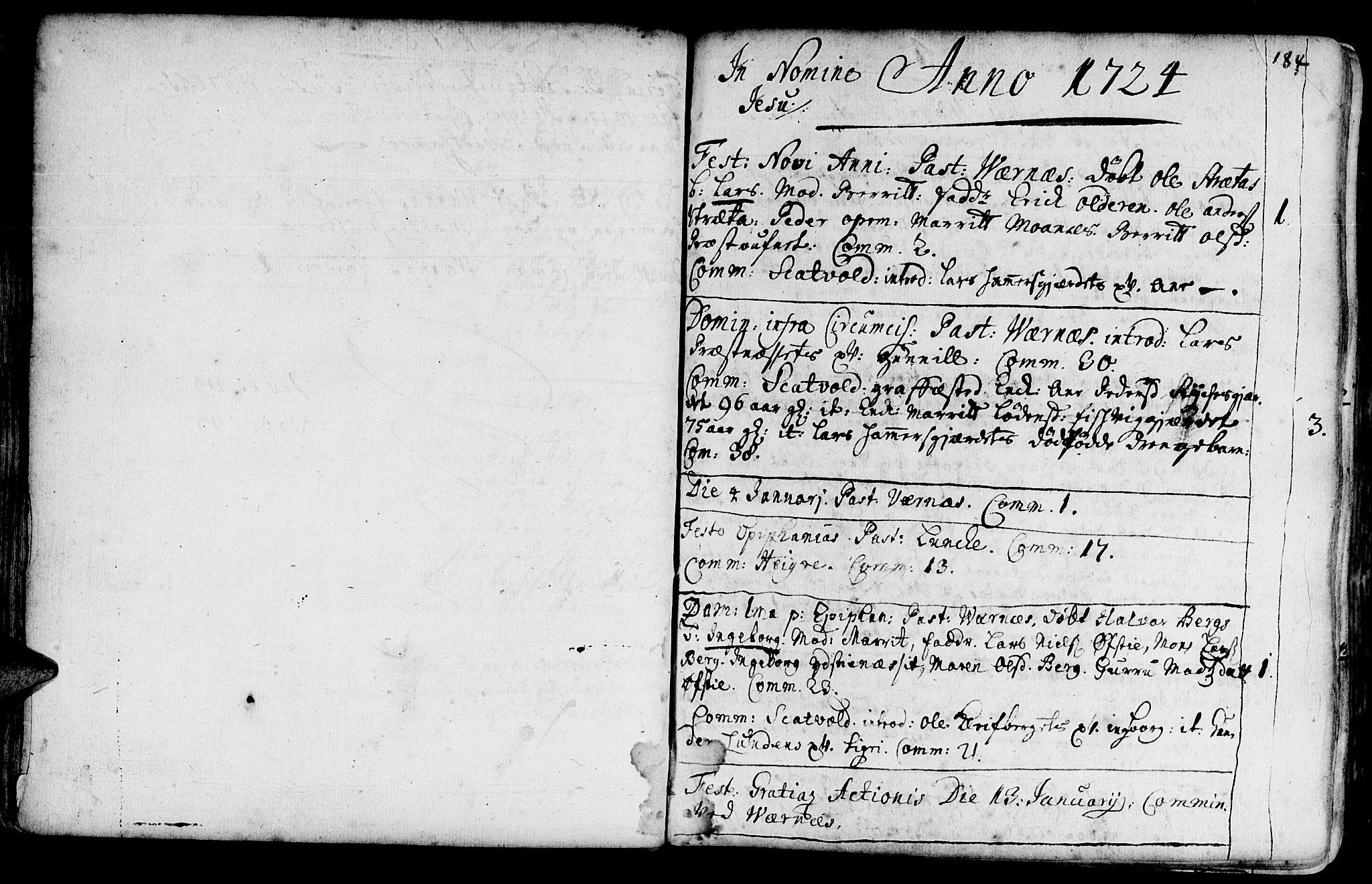 SAT, Ministerialprotokoller, klokkerbøker og fødselsregistre - Nord-Trøndelag, 709/L0054: Ministerialbok nr. 709A02, 1714-1738, s. 183-184