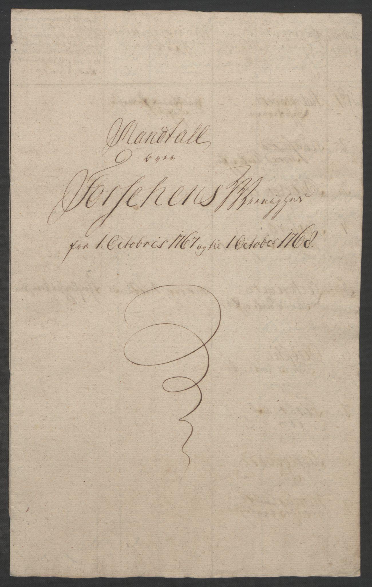 RA, Rentekammeret inntil 1814, Realistisk ordnet avdeling, Ol/L0022b: [Gg 10]: Ekstraskatten, 23.09.1762. Senja og Troms, 1765-1768, s. 277