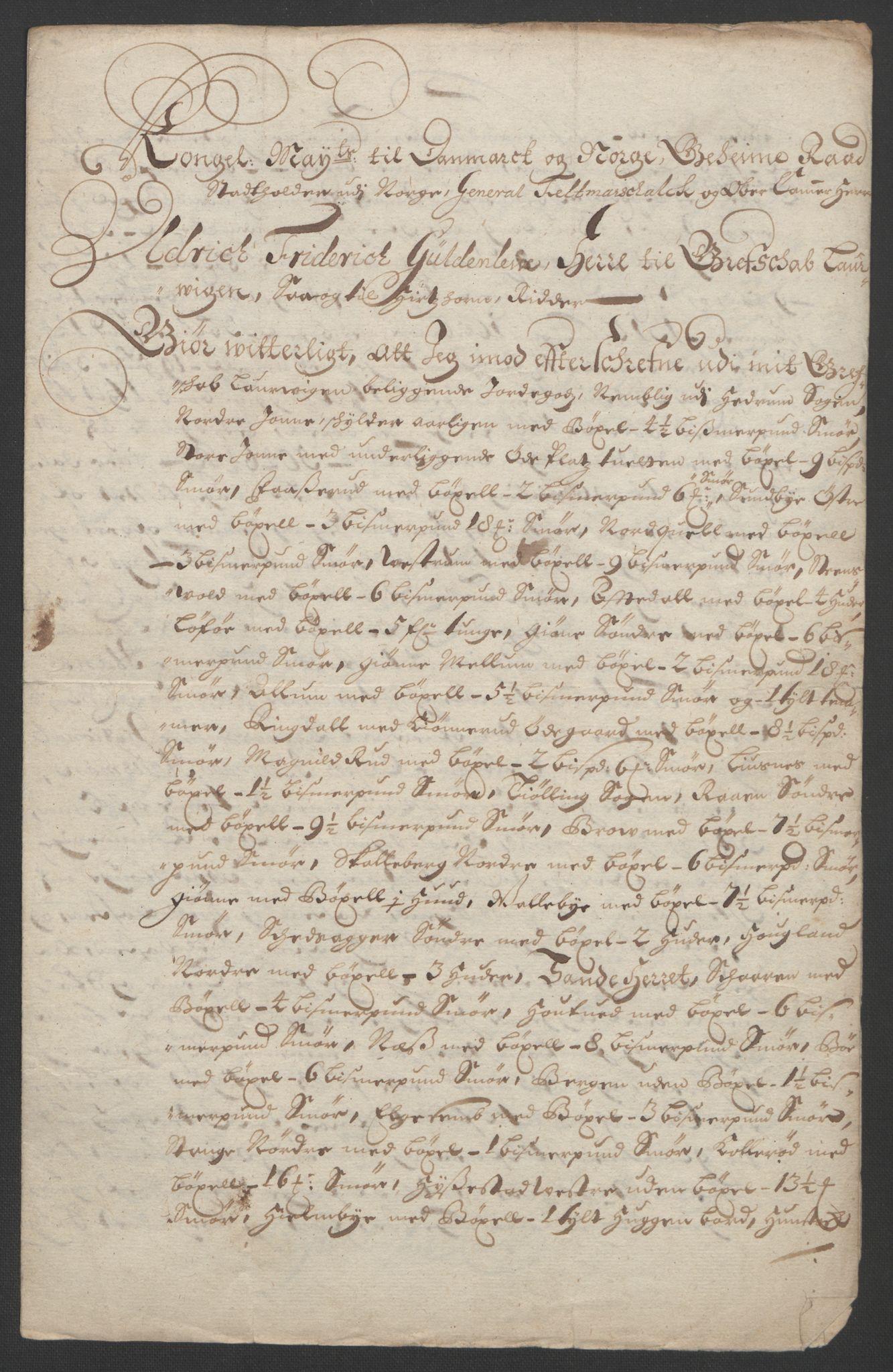 RA, Rentekammeret inntil 1814, Reviderte regnskaper, Fogderegnskap, R13/L0832: Fogderegnskap Solør, Odal og Østerdal, 1694, s. 307