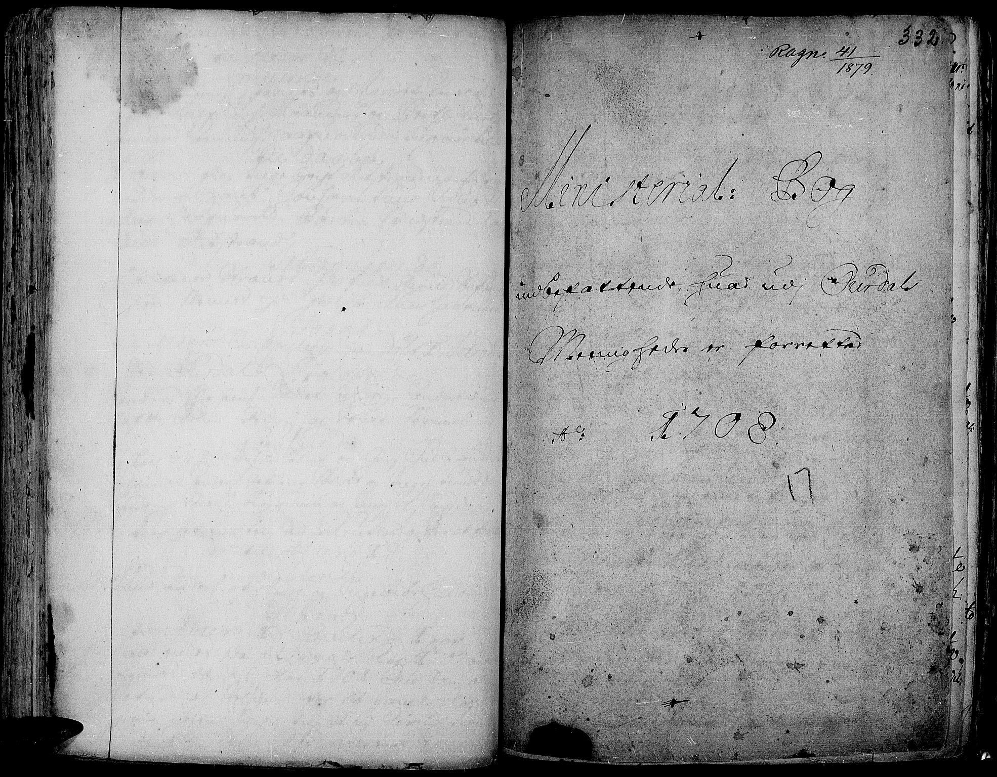 SAH, Aurdal prestekontor, Ministerialbok nr. 1-3, 1692-1730, s. 332