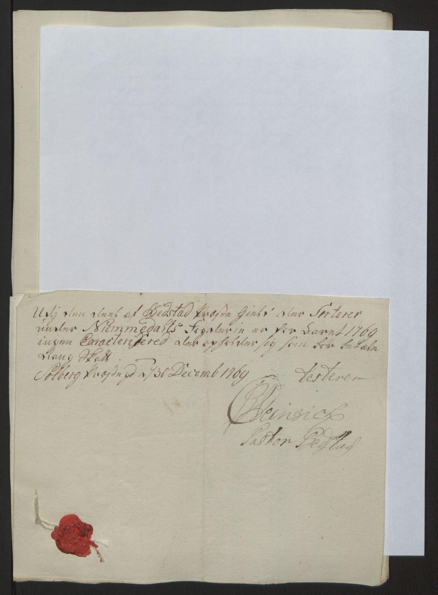 RA, Rentekammeret inntil 1814, Reviderte regnskaper, Fogderegnskap, R64/L4502: Ekstraskatten Namdal, 1762-1772, s. 320