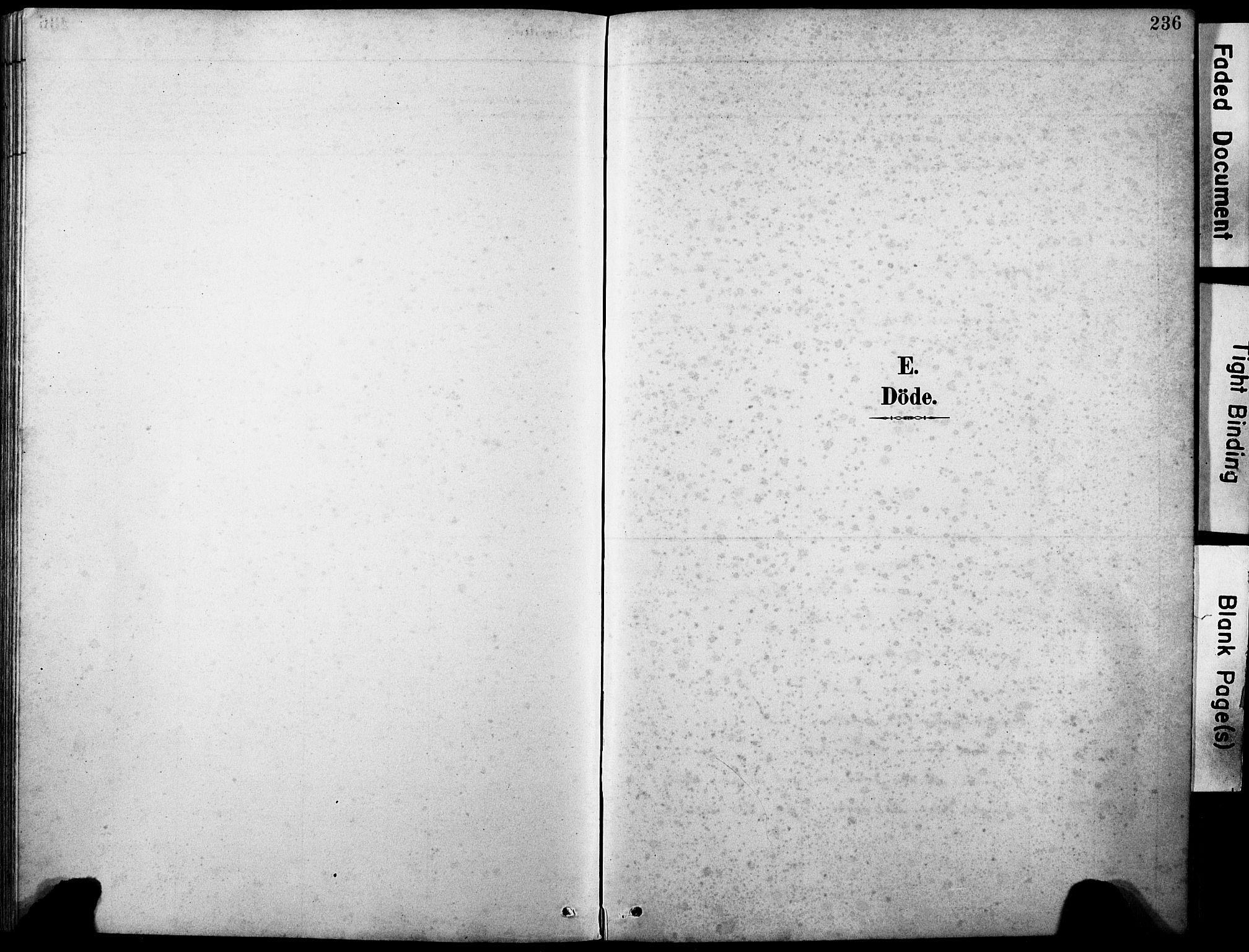 SAB, Askvoll Sokneprestembete, H/Hab/Haba/L0003: Klokkerbok nr. A 3, 1886-1928, s. 236