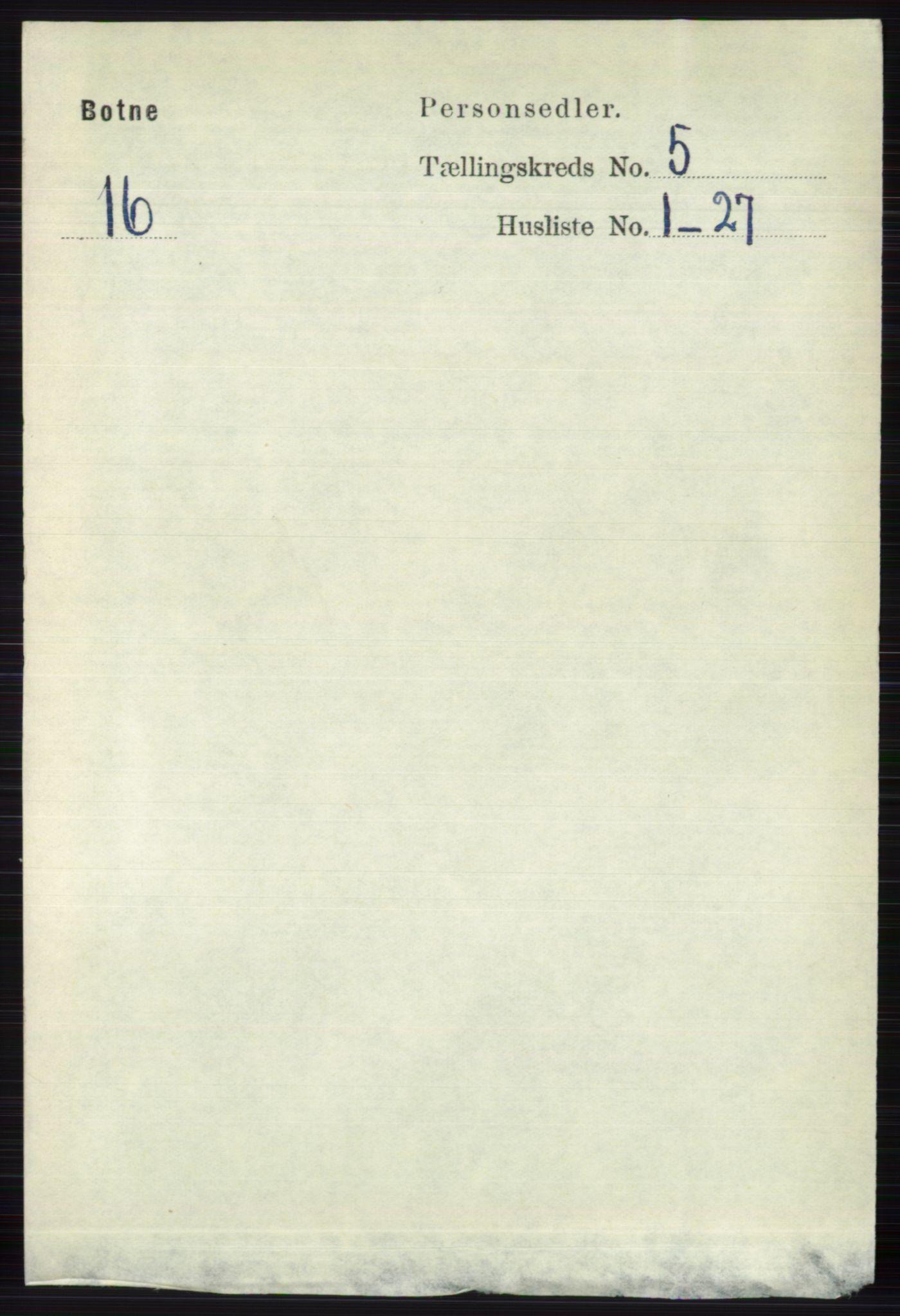 RA, Folketelling 1891 for 0715 Botne herred, 1891, s. 1948
