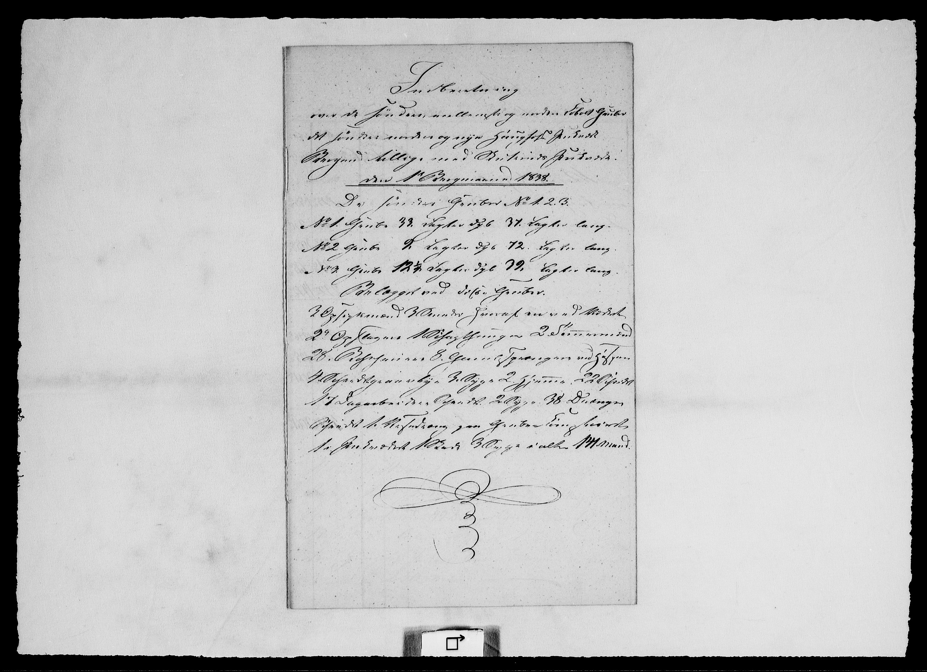 RA, Modums Blaafarveværk, G/Ge/L0317, 1838-1848, s. 2