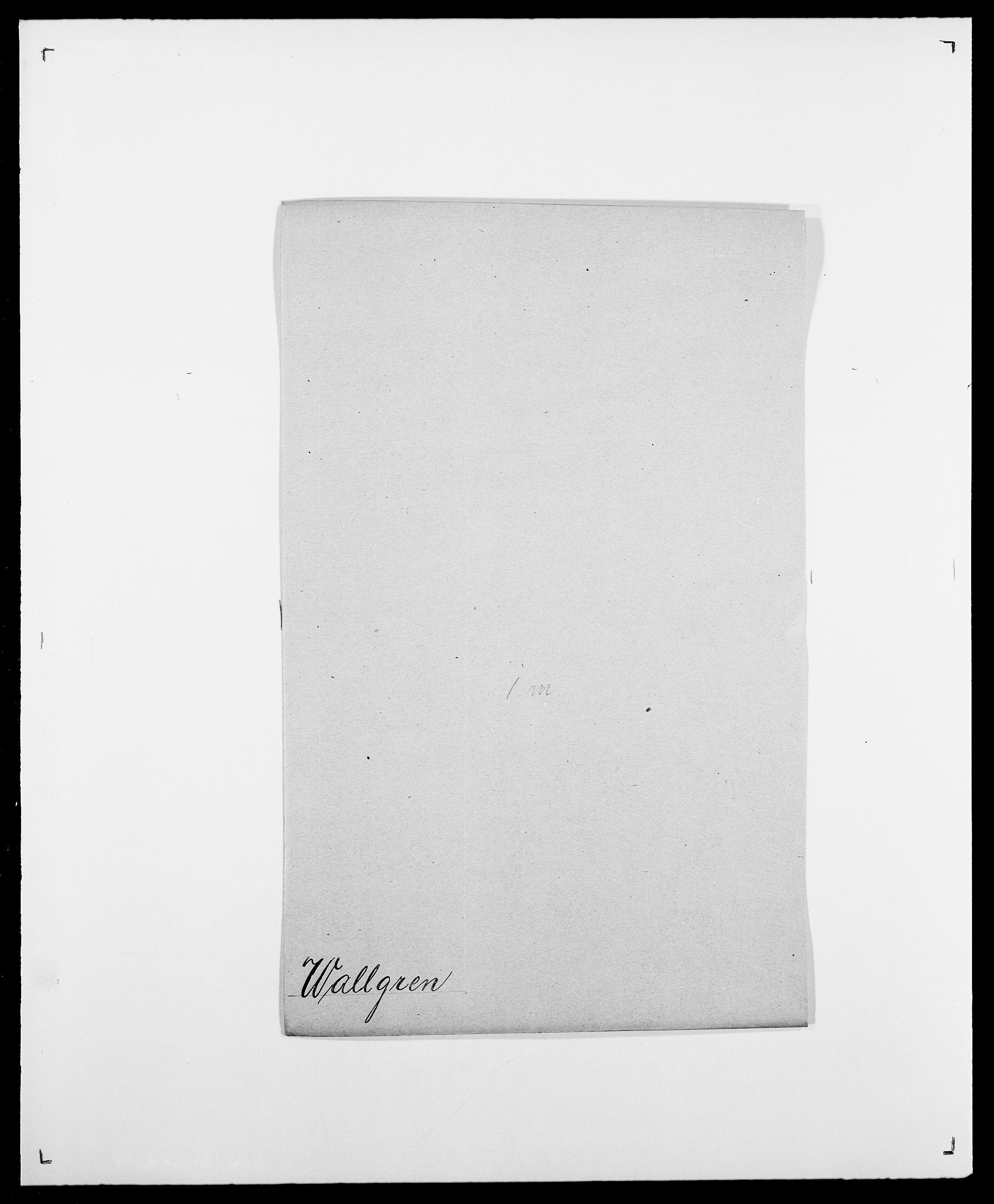 SAO, Delgobe, Charles Antoine - samling, D/Da/L0040: Usgaard - Velund, s. 181