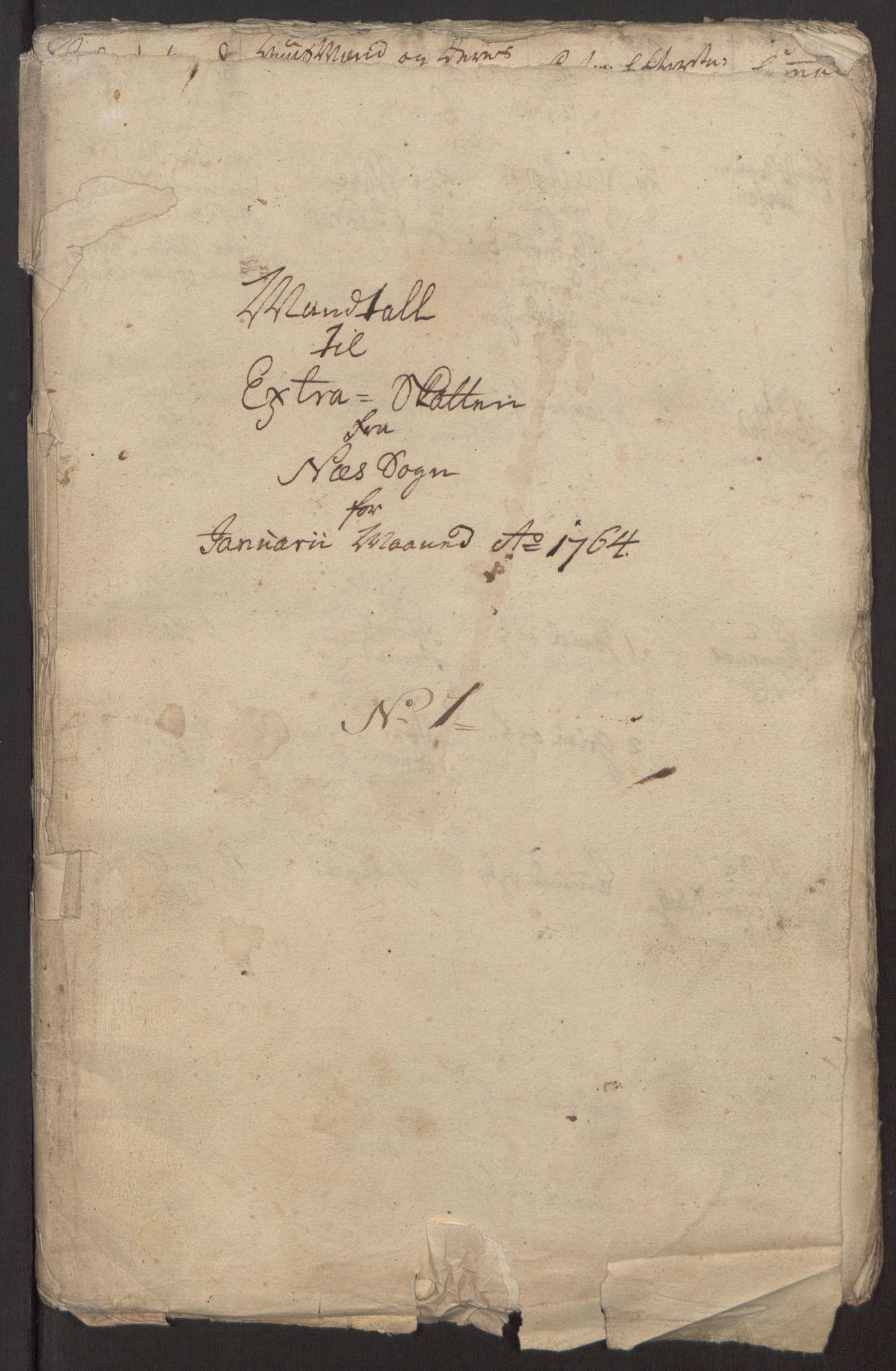 RA, Rentekammeret inntil 1814, Reviderte regnskaper, Fogderegnskap, R12/L0803: Ekstraskatten Øvre Romerike, 1763-1764, s. 219