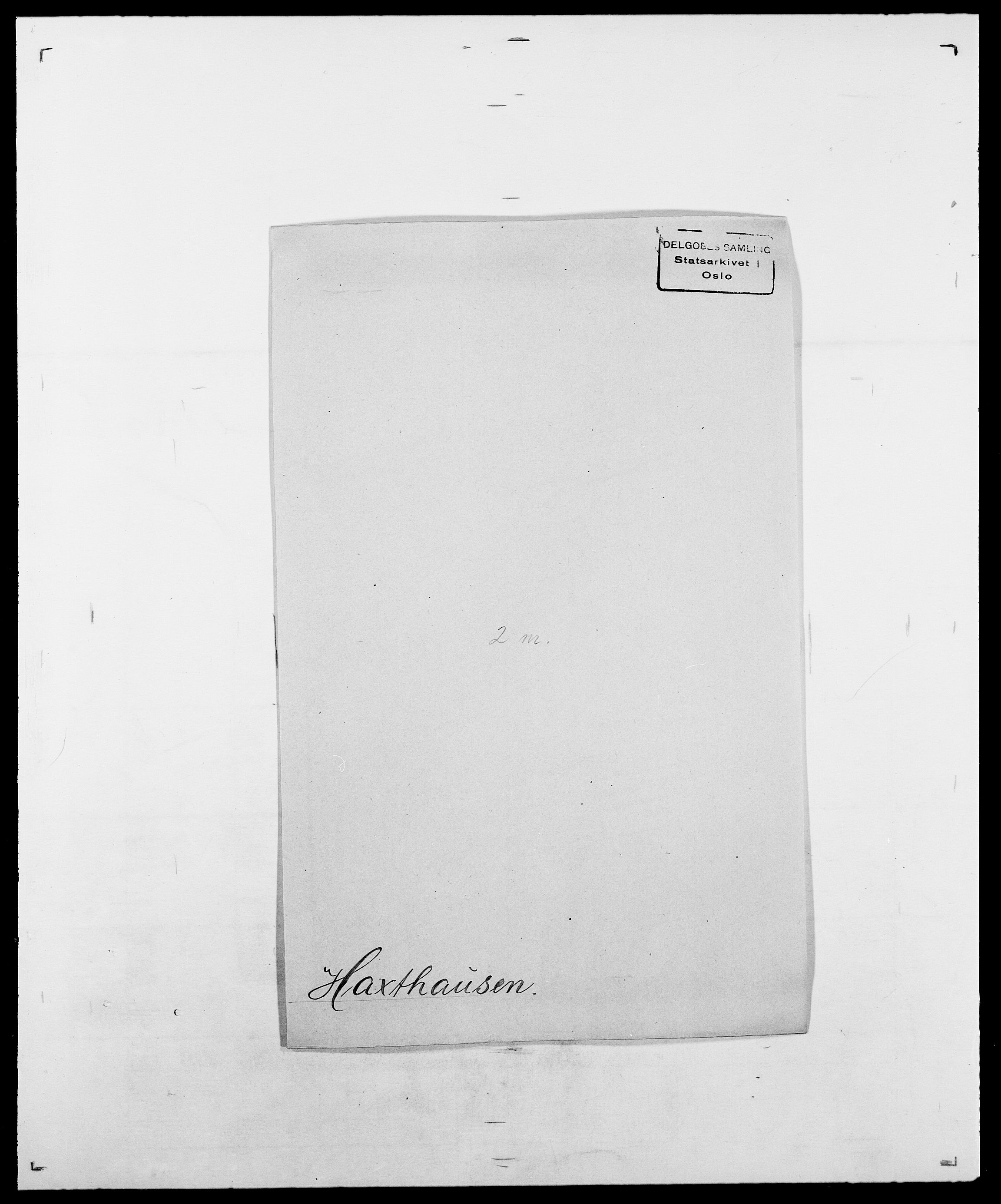SAO, Delgobe, Charles Antoine - samling, D/Da/L0016: Hamborg - Hektoen, s. 635