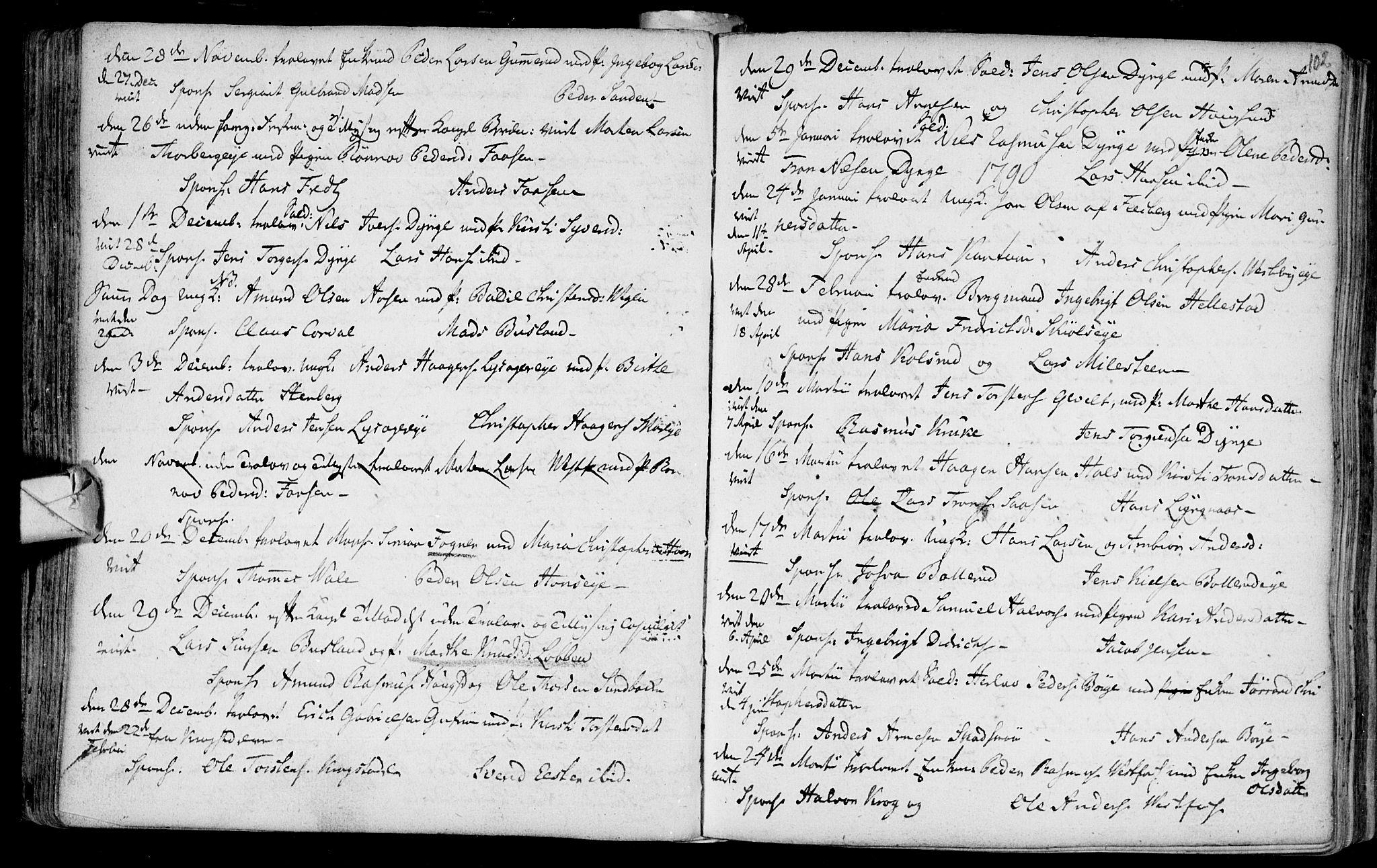 SAKO, Eiker kirkebøker, F/Fa/L0007: Ministerialbok nr. I 7 /1, 1733-1808, s. 102