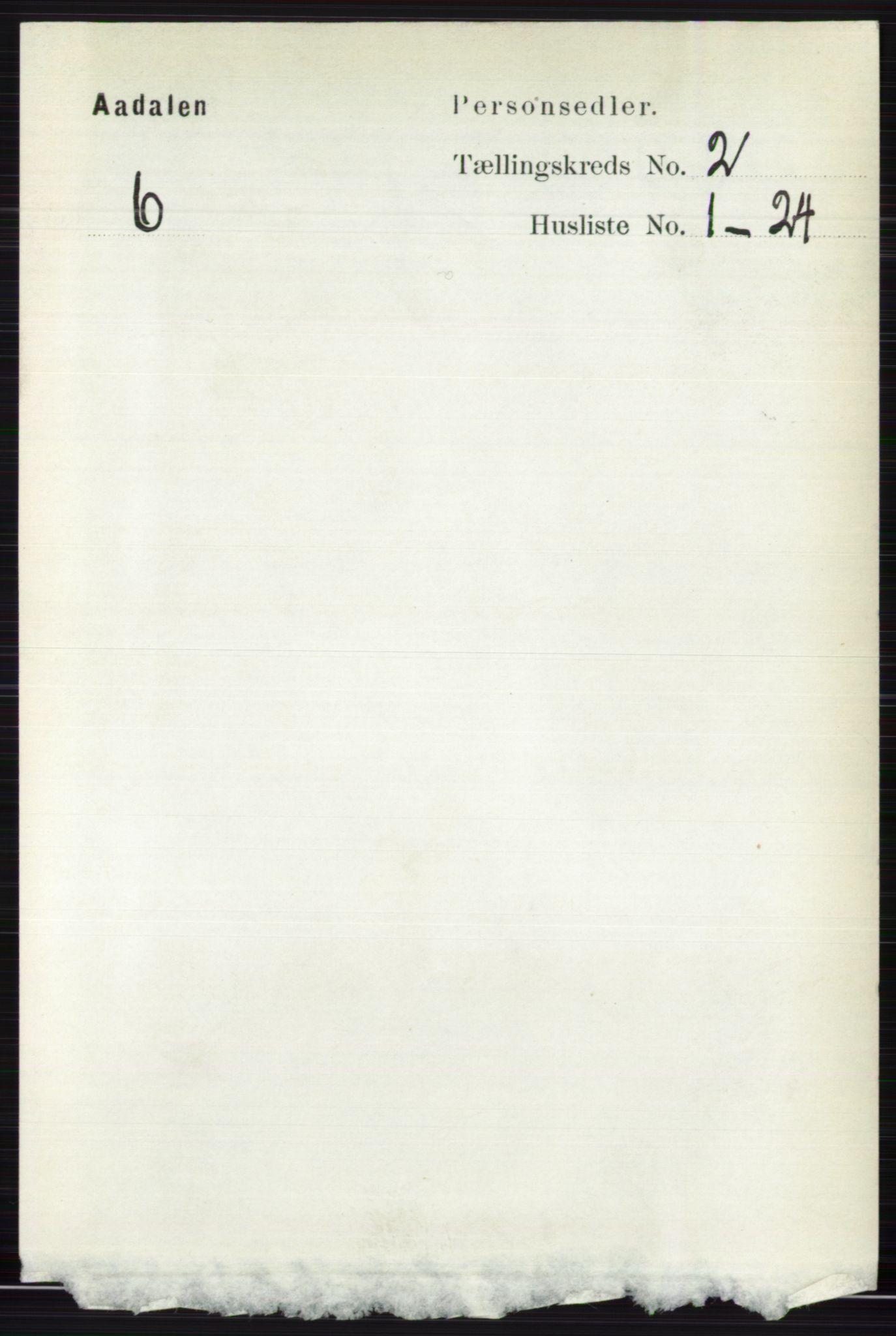 RA, Folketelling 1891 for 0614 Ådal herred, 1891, s. 638