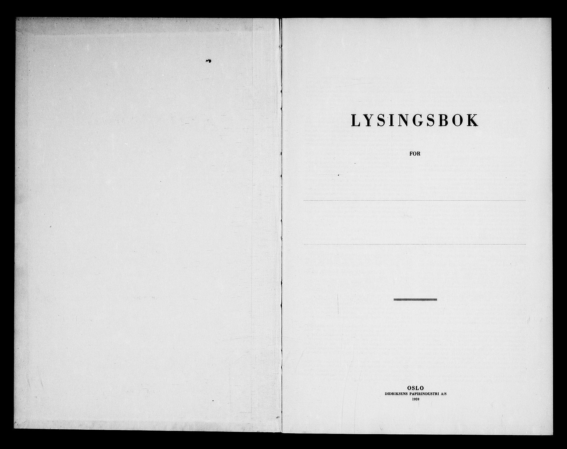 SAKO, Lunde kirkebøker, H/Ha/L0002: Lysningsprotokoll nr. 2, 1966-1969