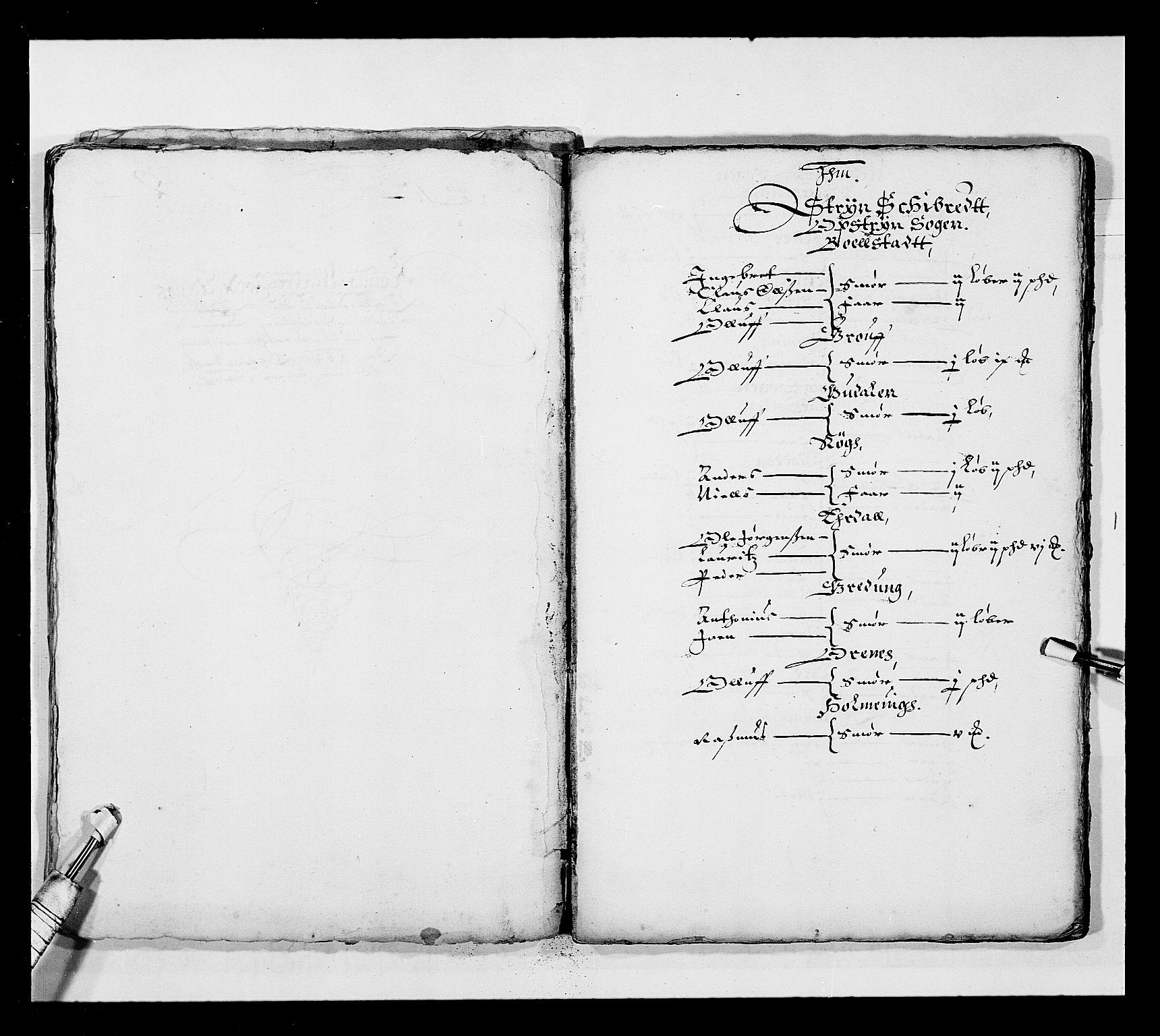 RA, Stattholderembetet 1572-1771, Ek/L0025: Jordebøker 1633-1658:, 1645-1646, s. 183