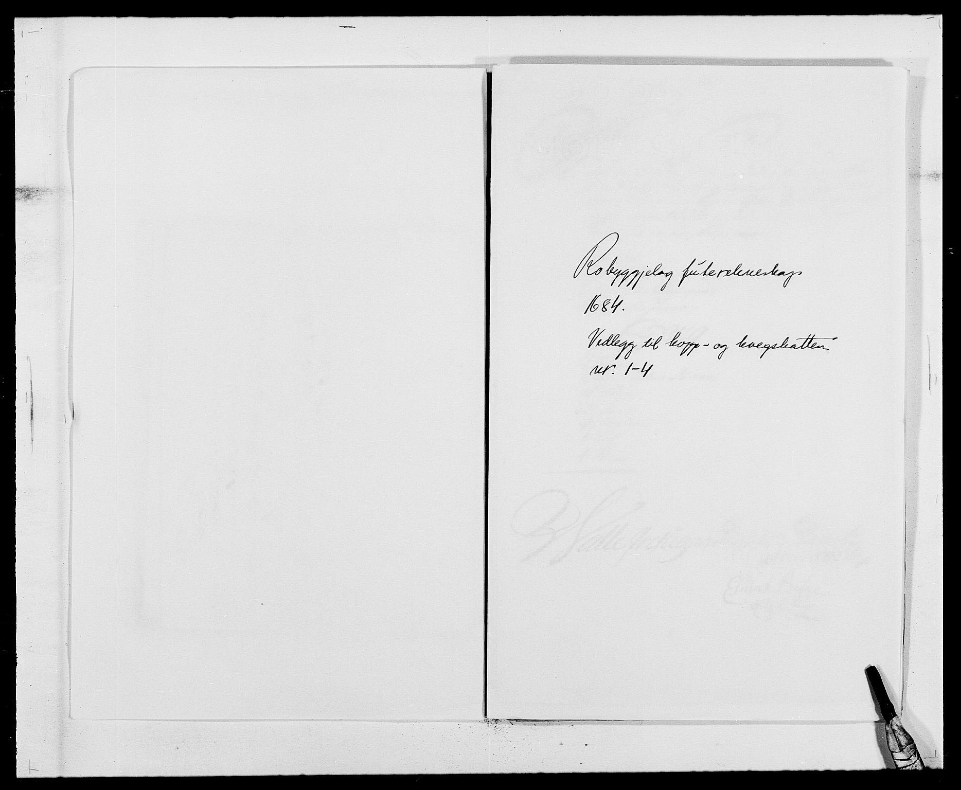 RA, Rentekammeret inntil 1814, Reviderte regnskaper, Fogderegnskap, R40/L2439: Fogderegnskap Råbyggelag, 1684-1685, s. 92