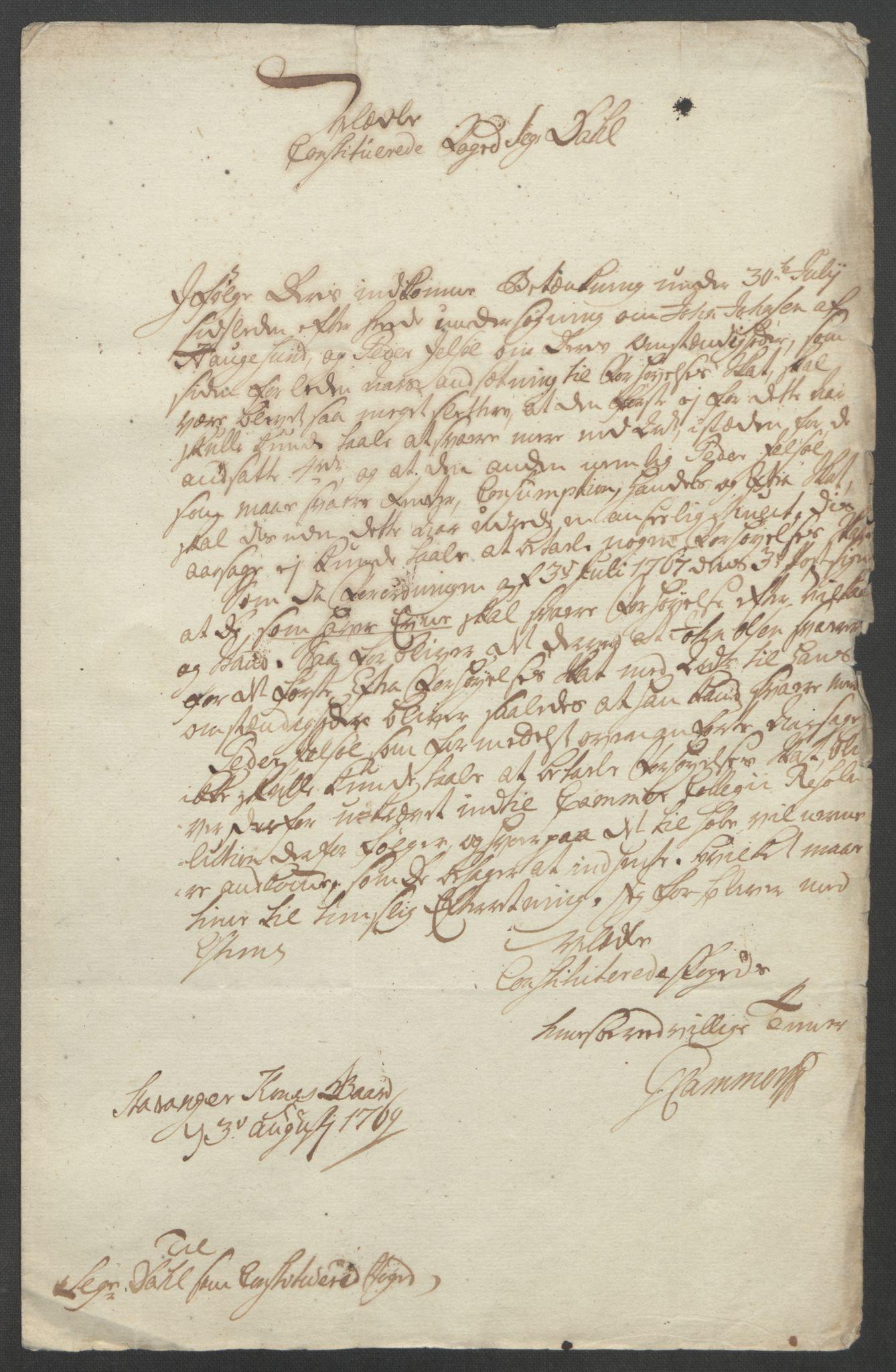 RA, Rentekammeret inntil 1814, Reviderte regnskaper, Fogderegnskap, R47/L2972: Ekstraskatten Ryfylke, 1762-1780, s. 198