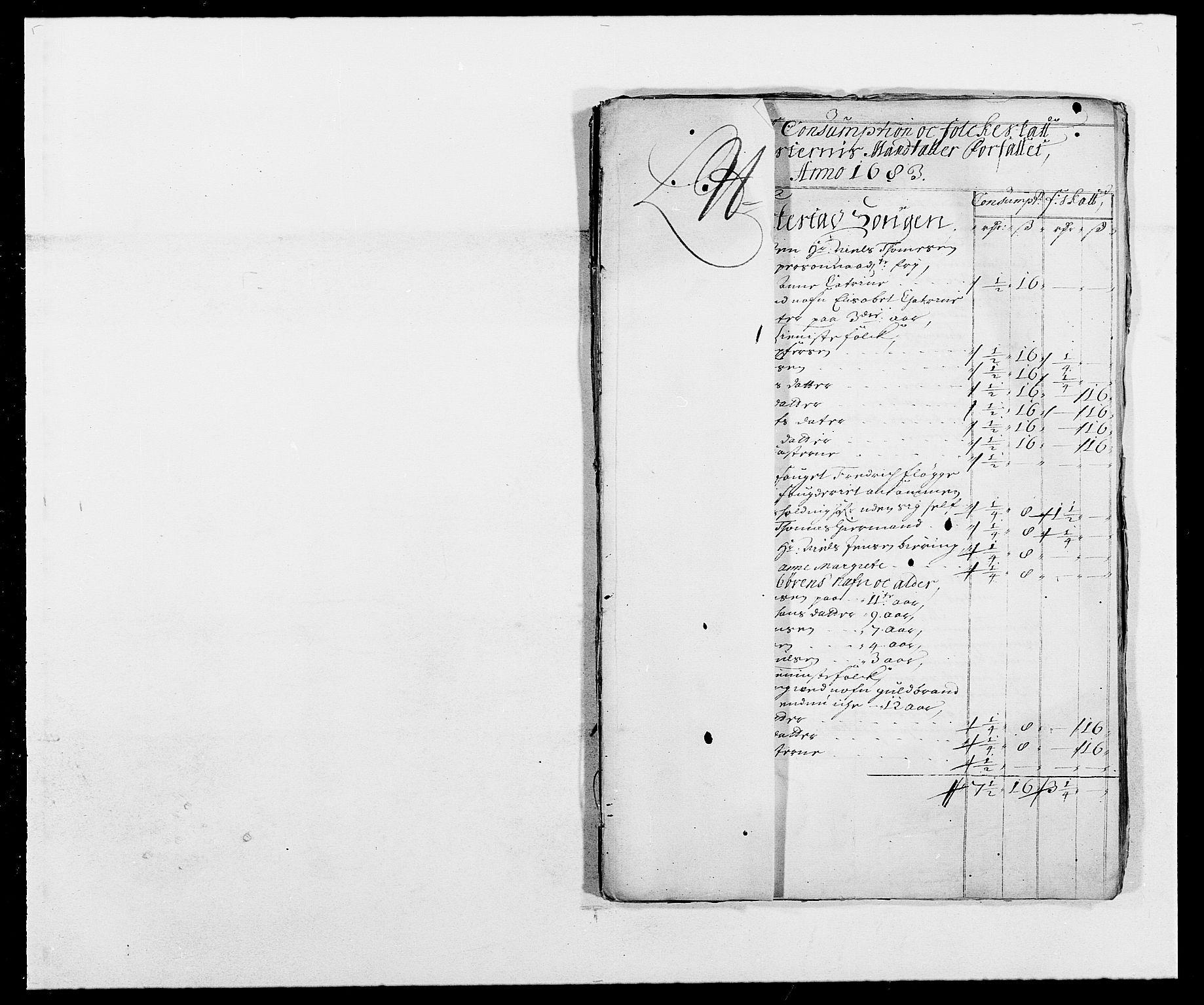 RA, Rentekammeret inntil 1814, Reviderte regnskaper, Fogderegnskap, R05/L0274: Fogderegnskap Rakkestad, 1683-1684, s. 166