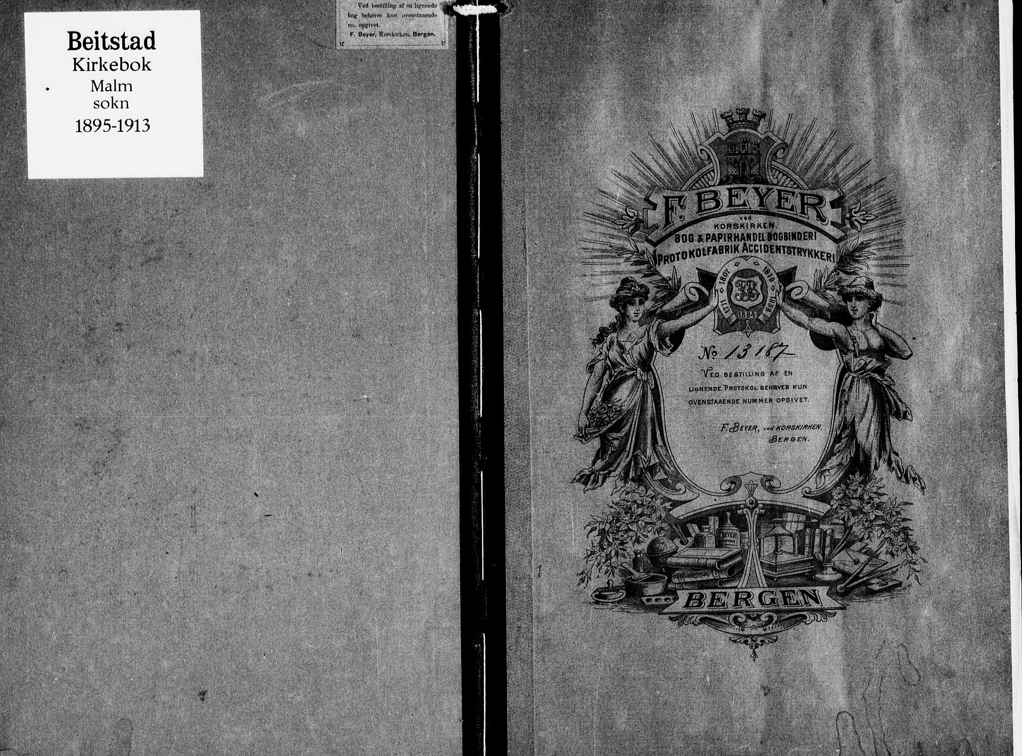 SAT, Ministerialprotokoller, klokkerbøker og fødselsregistre - Nord-Trøndelag, 745/L0430: Ministerialbok nr. 745A02, 1895-1913