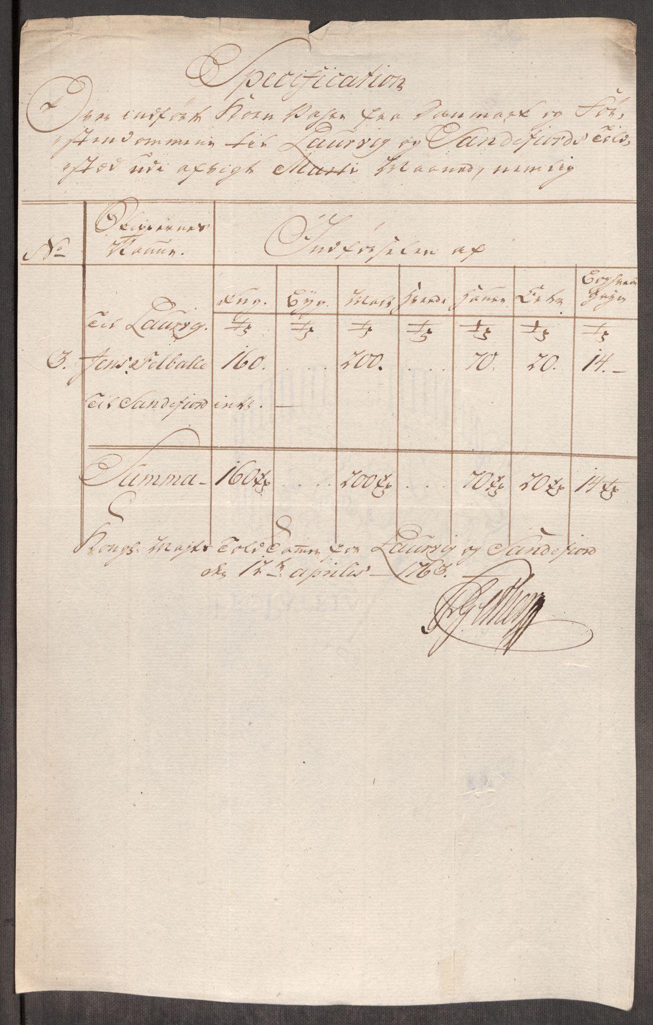 RA, Rentekammeret inntil 1814, Realistisk ordnet avdeling, Oe/L0007: [Ø1]: Priskuranter, 1761-1763, s. 673