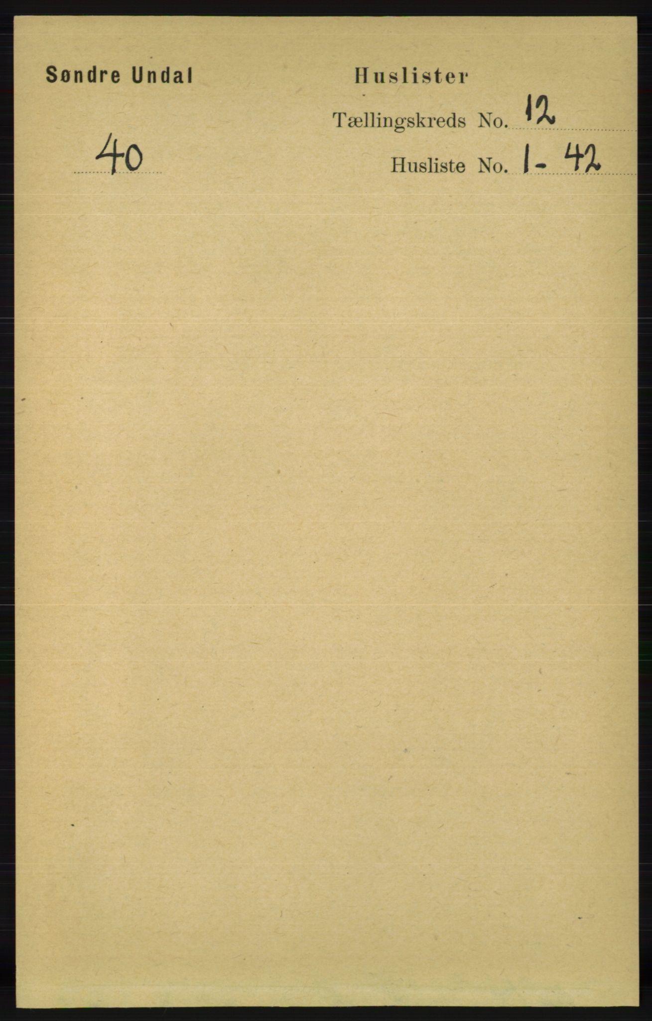 RA, Folketelling 1891 for 1029 Sør-Audnedal herred, 1891, s. 5456