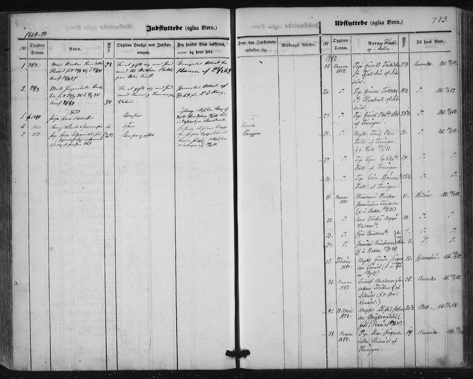SAKO, Nissedal kirkebøker, F/Fa/L0003: Ministerialbok nr. I 3, 1846-1870, s. 772-773