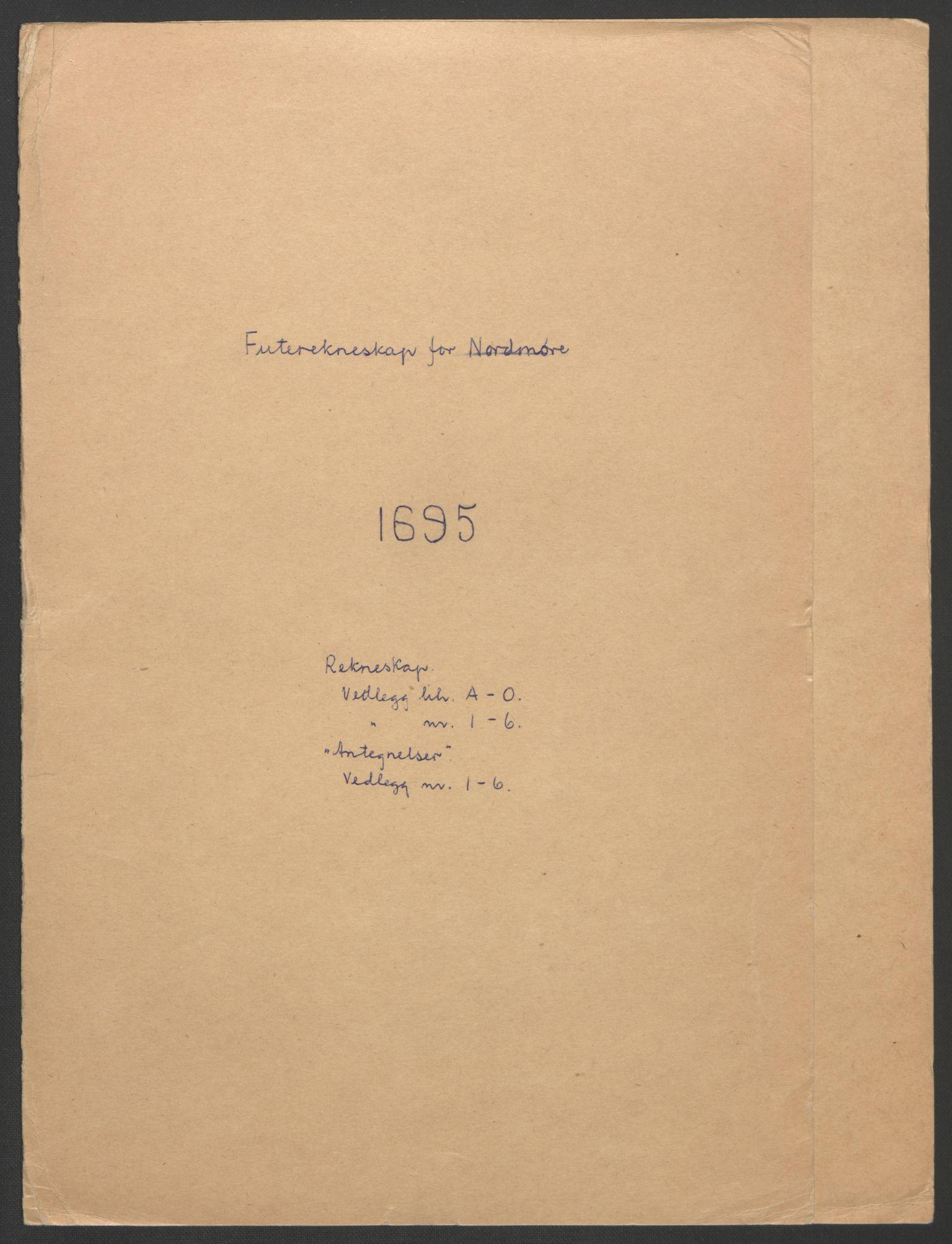 RA, Rentekammeret inntil 1814, Reviderte regnskaper, Fogderegnskap, R56/L3736: Fogderegnskap Nordmøre, 1694-1696, s. 181