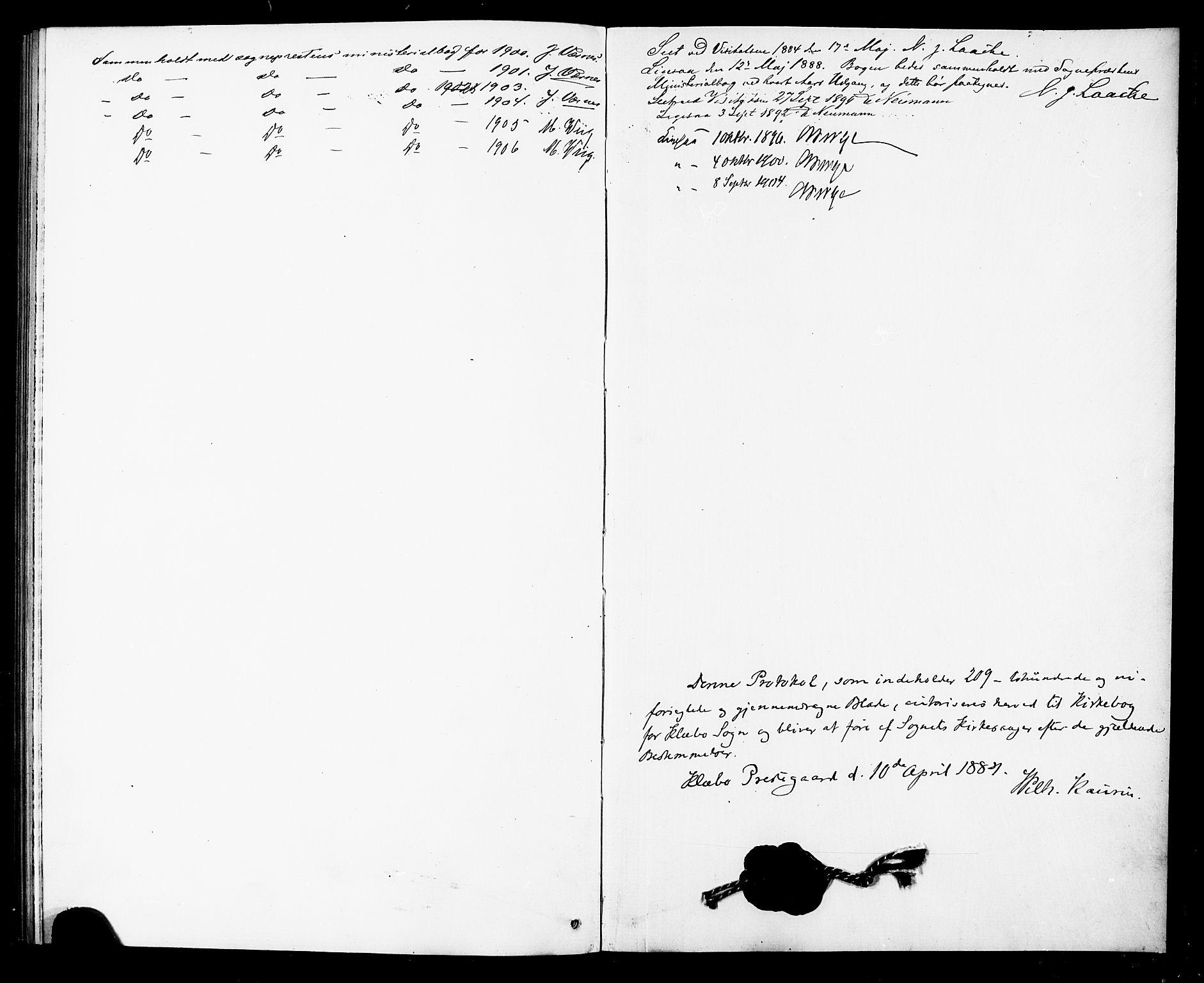 SAT, Ministerialprotokoller, klokkerbøker og fødselsregistre - Sør-Trøndelag, 618/L0452: Klokkerbok nr. 618C03, 1884-1906