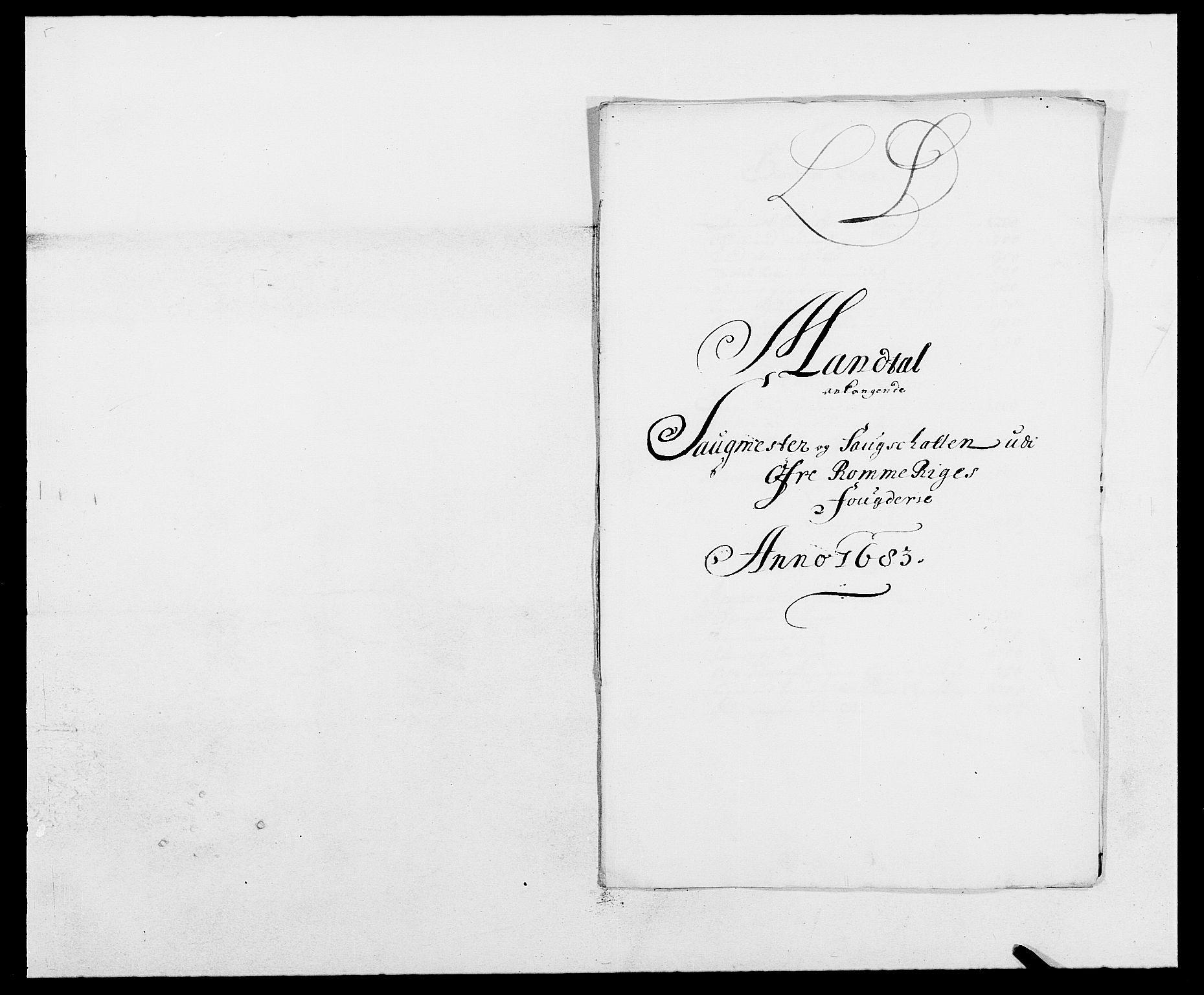 RA, Rentekammeret inntil 1814, Reviderte regnskaper, Fogderegnskap, R12/L0697: Fogderegnskap Øvre Romerike, 1682-1683, s. 314