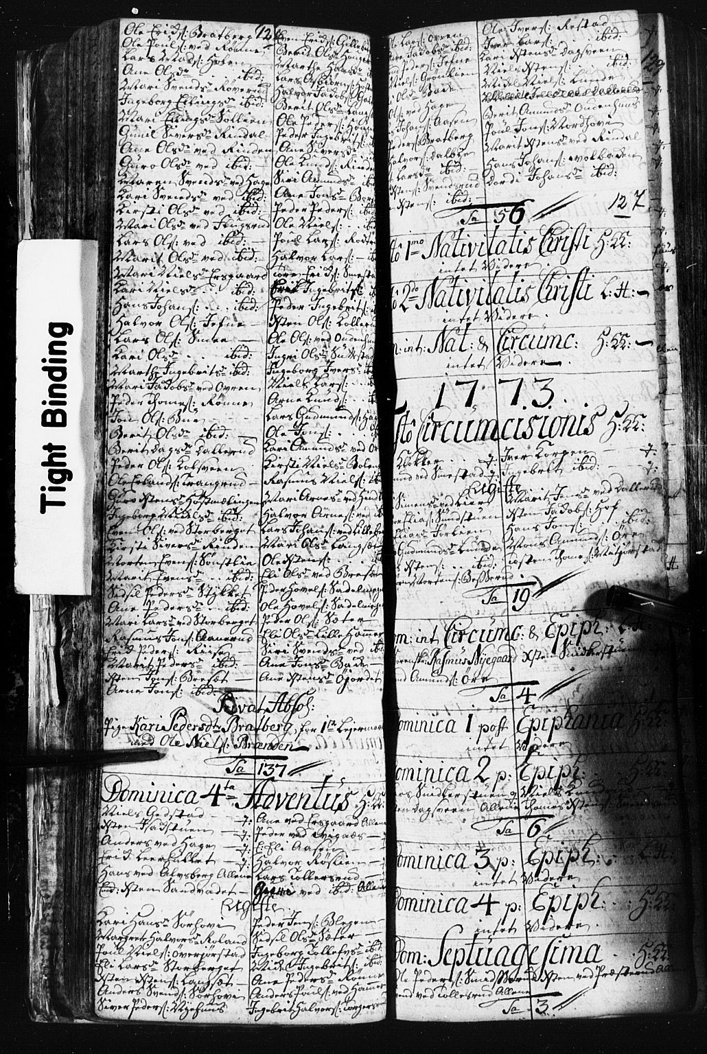SAH, Fåberg prestekontor, Klokkerbok nr. 3, 1768-1796, s. 126-127