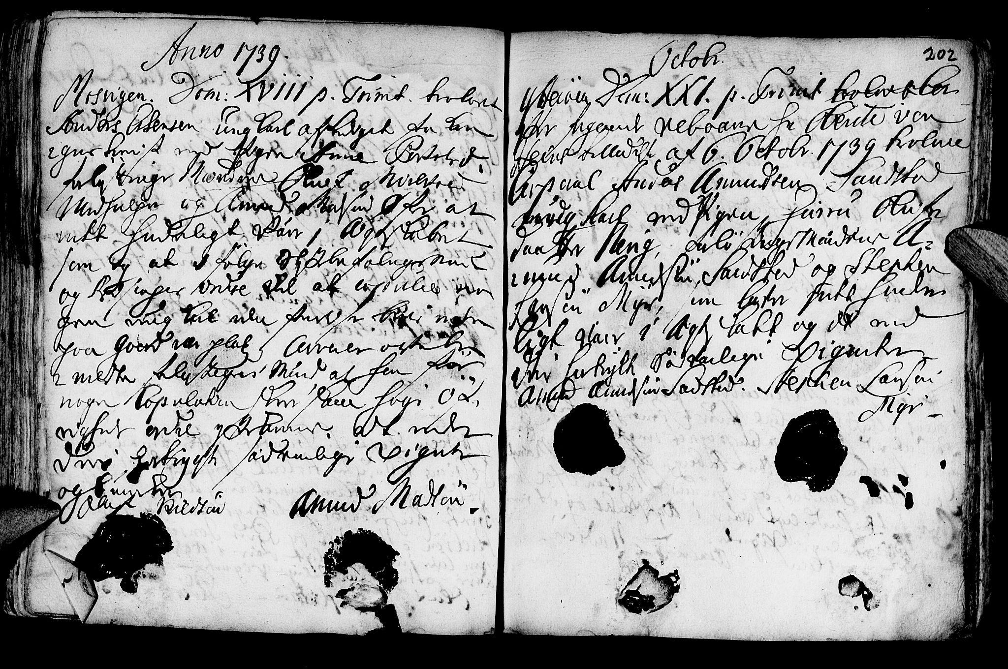 SAT, Ministerialprotokoller, klokkerbøker og fødselsregistre - Nord-Trøndelag, 722/L0215: Ministerialbok nr. 722A02, 1718-1755, s. 202