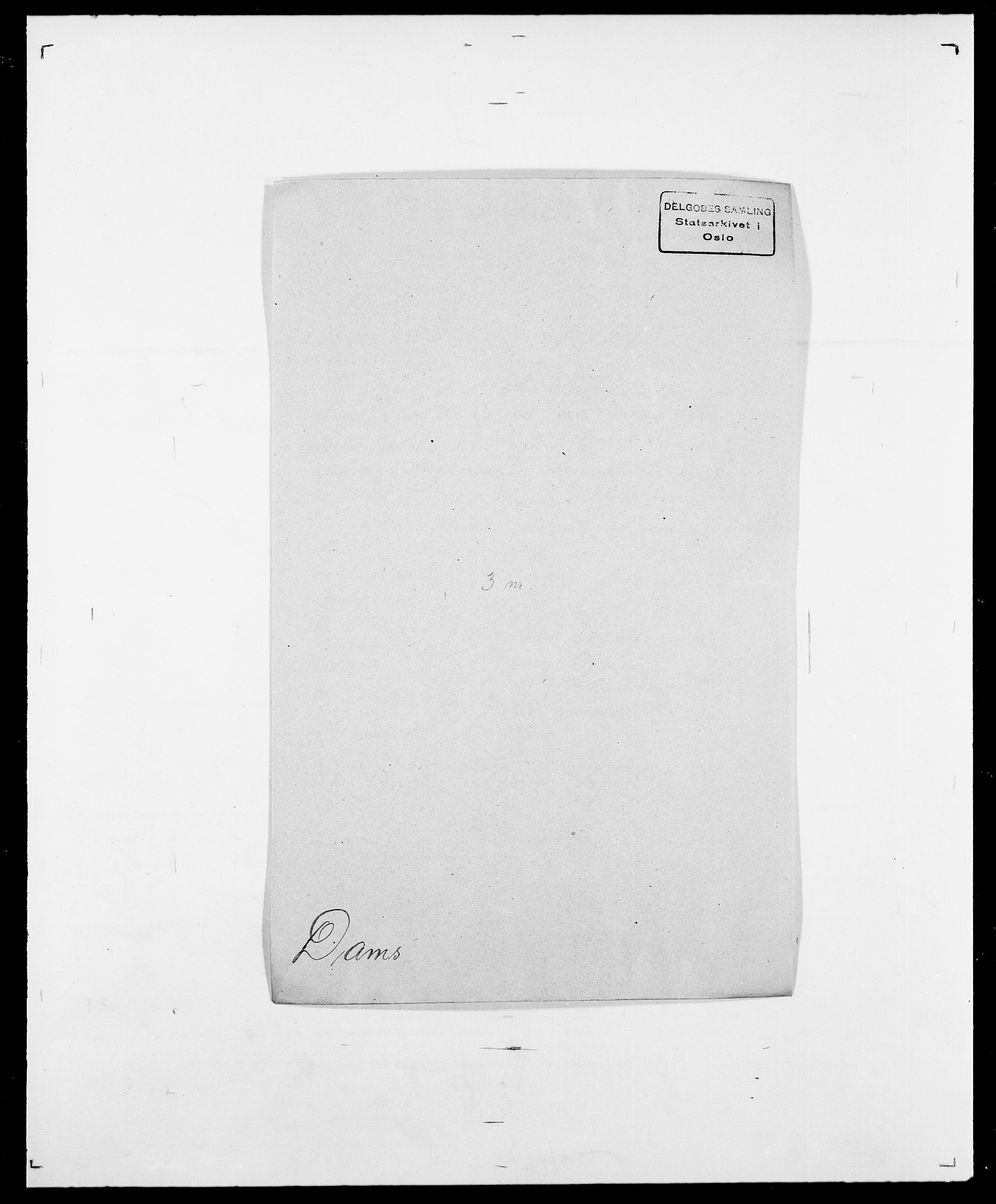 SAO, Delgobe, Charles Antoine - samling, D/Da/L0009: Dahl - v. Düren, s. 276