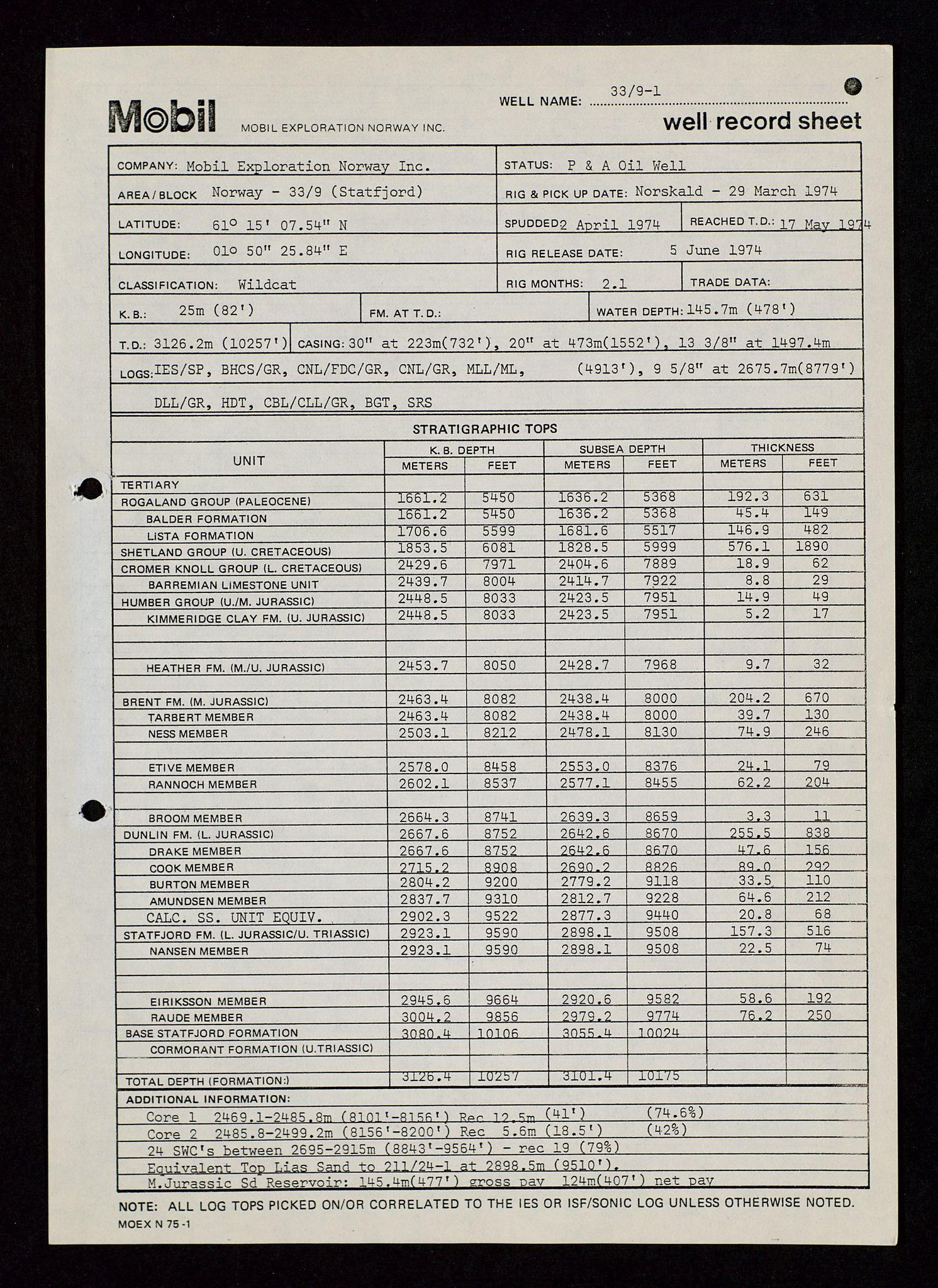 SAST, Pa 1578 - Mobil Exploration Norway Incorporated, D/Da/L0115: S.E. Smith - Sak og korrespondanse, 1974-1981, s. 529