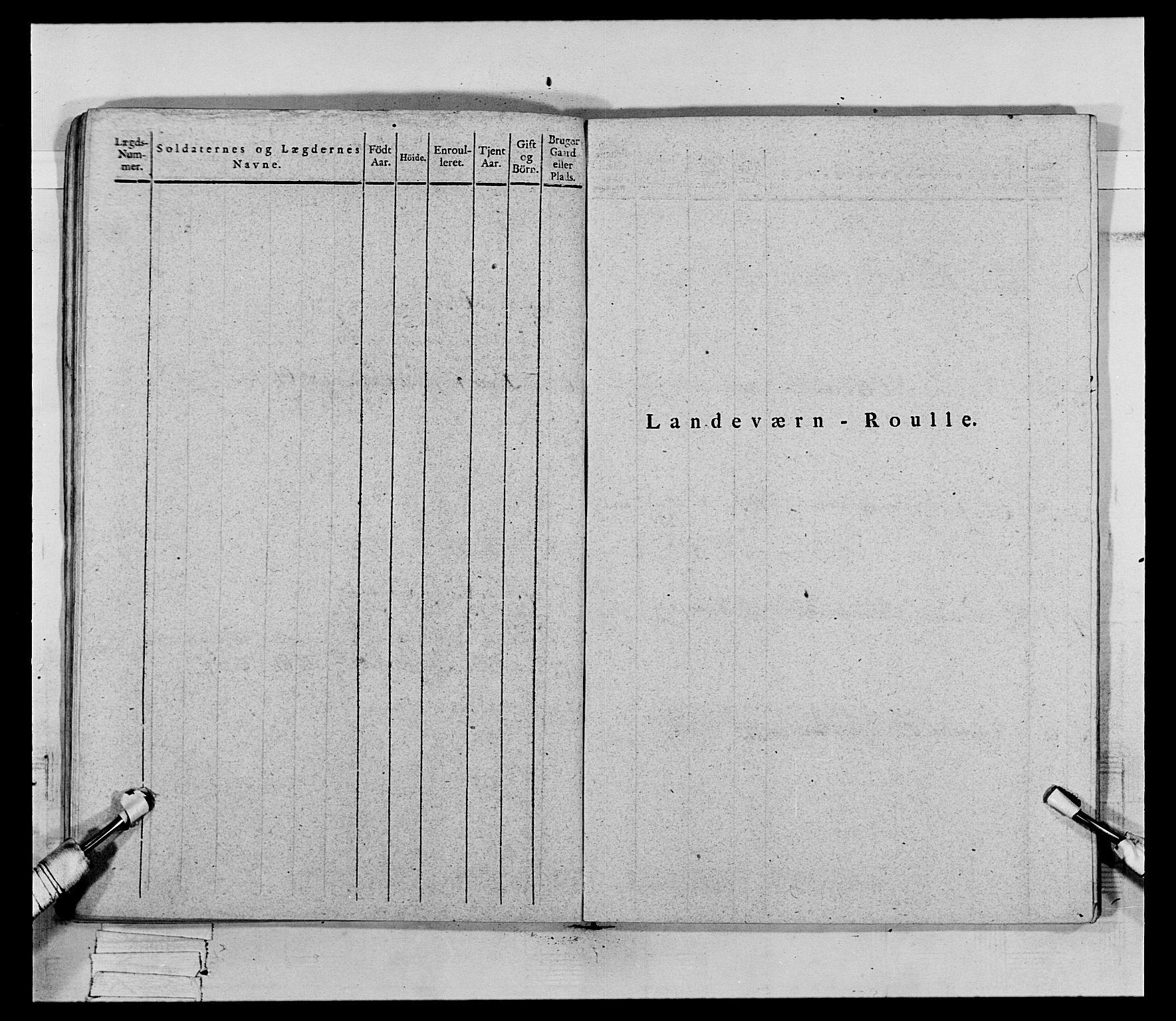 RA, Generalitets- og kommissariatskollegiet, Det kongelige norske kommissariatskollegium, E/Eh/L0069: Opplandske gevorbne infanteriregiment, 1810-1818, s. 691