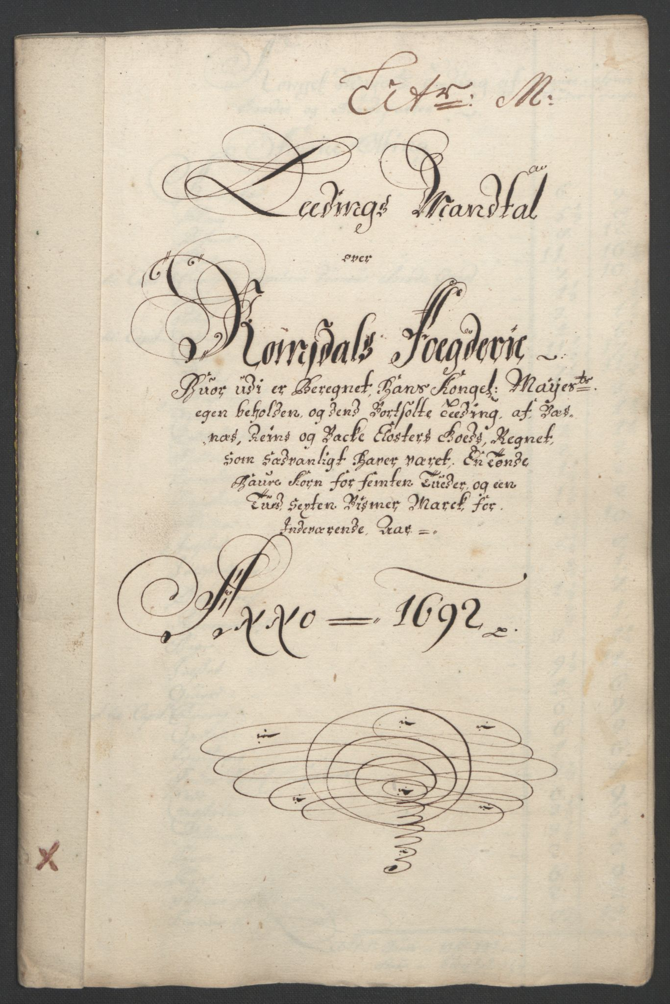 RA, Rentekammeret inntil 1814, Reviderte regnskaper, Fogderegnskap, R55/L3650: Fogderegnskap Romsdal, 1692, s. 140