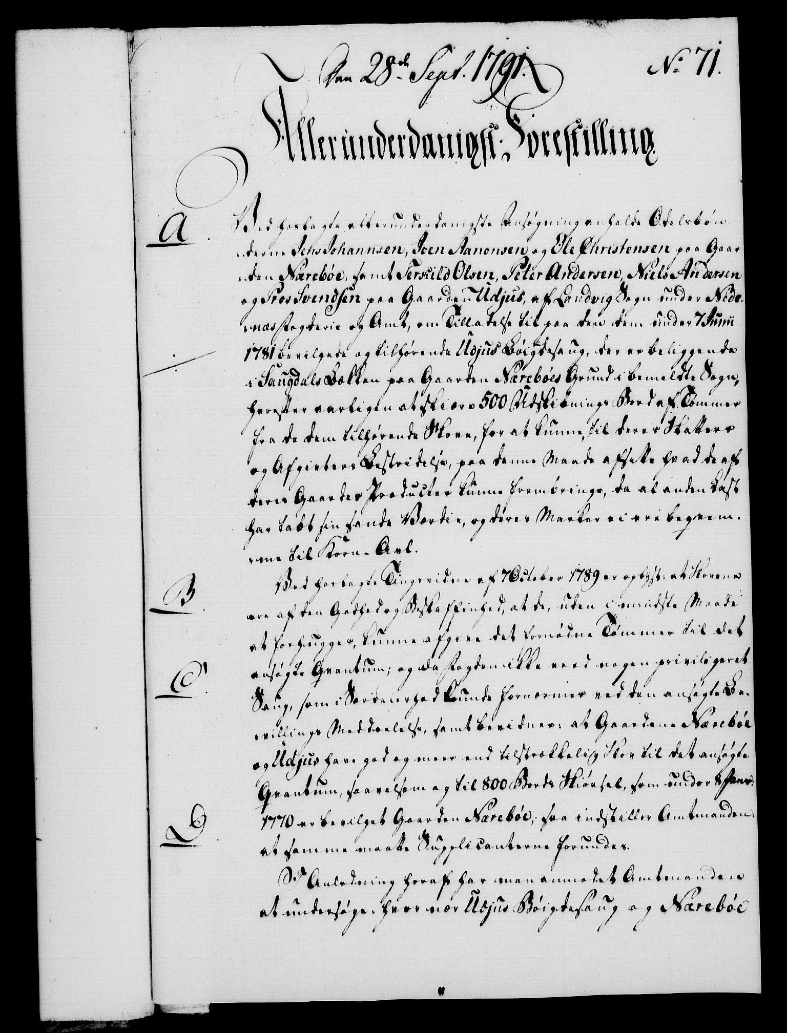RA, Rentekammeret, Kammerkanselliet, G/Gf/Gfa/L0073: Norsk relasjons- og resolusjonsprotokoll (merket RK 52.73), 1791, s. 402