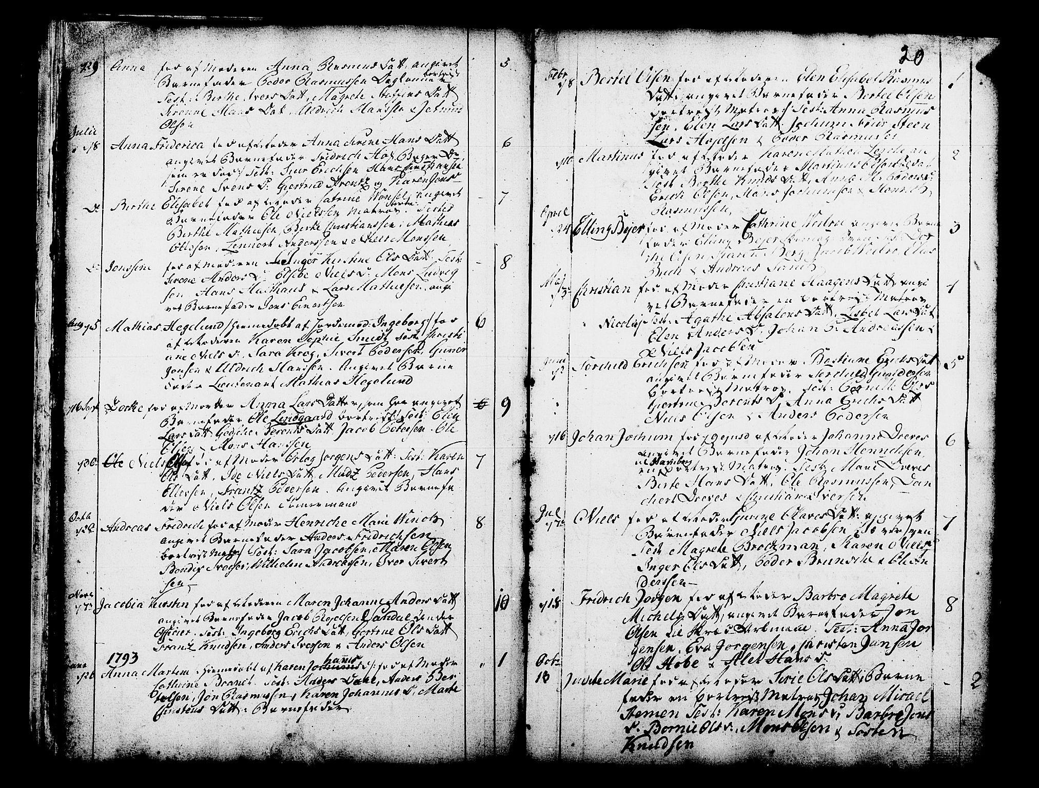 SAB, Domkirken Sokneprestembete, H/Haa/L0003: Ministerialbok nr. A 3, 1758-1789, s. 20