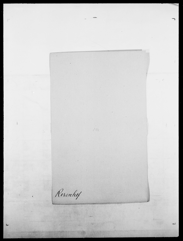 SAO, Delgobe, Charles Antoine - samling, D/Da/L0033: Roald - Røyem, s. 233